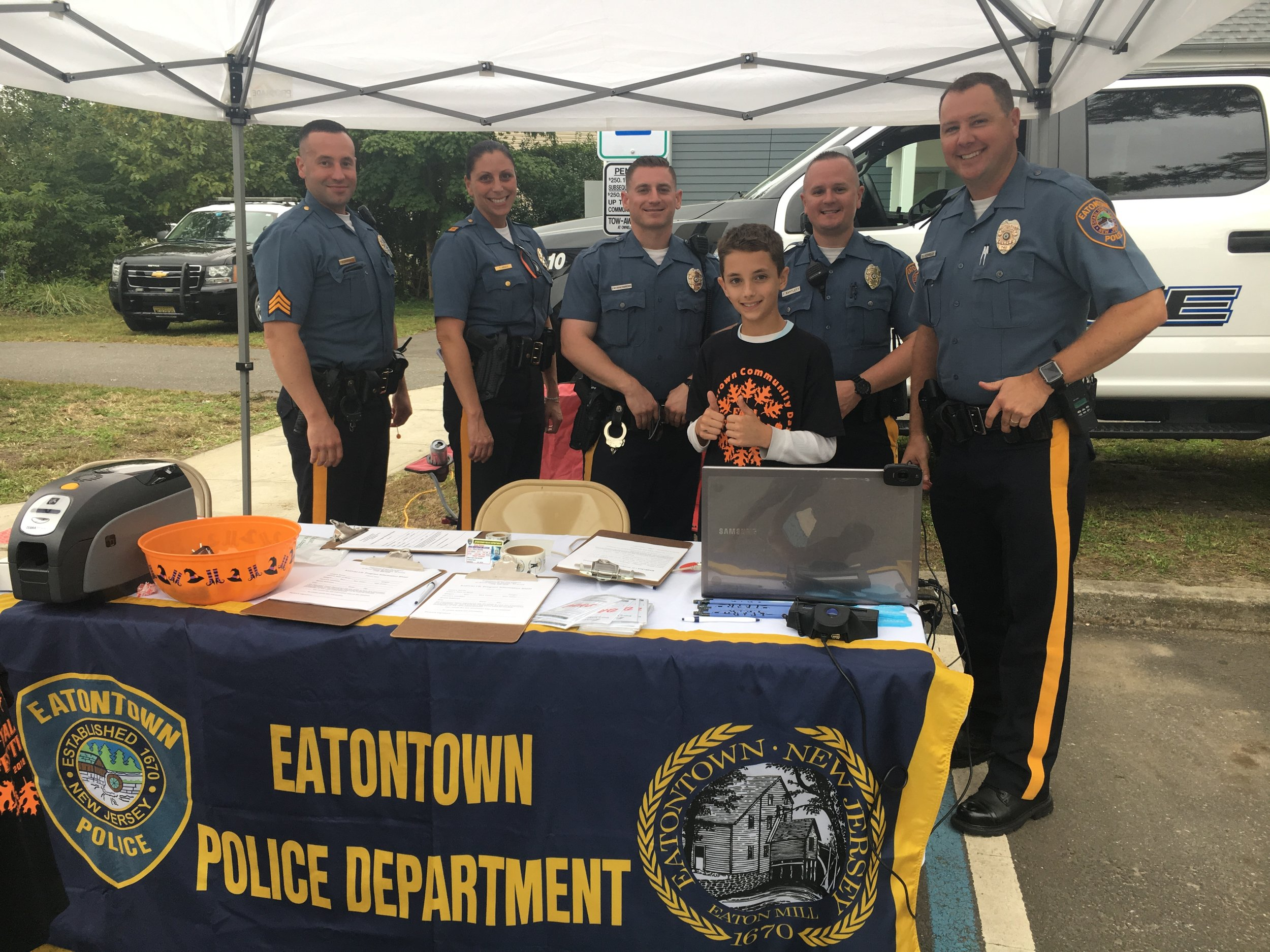 Max with the Eatontown NJ Police Department
