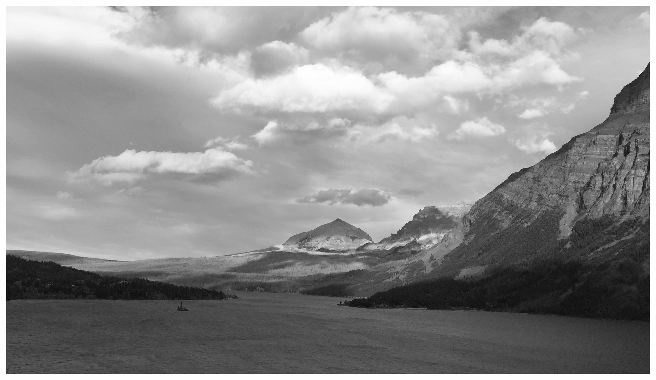 I took this photo June 2016, in Glacier National Park, MT.