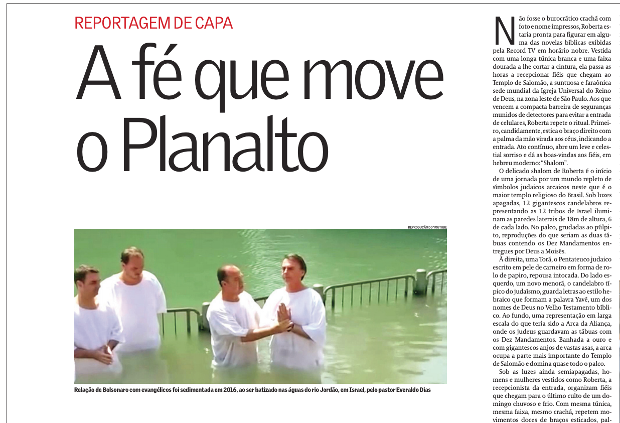 Os profetas do Apocalipse e a fé que move o Palácio do Planalto