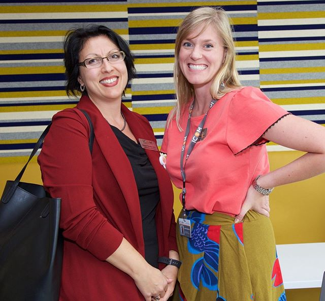 (L-R) Dr. Geri Deevska, Assistant Professor of Biochemistry, and Dr. Jessica Ziebarth, Assistant Professor of Physical Medicine and Rehabilitation. #IdahoCOM
