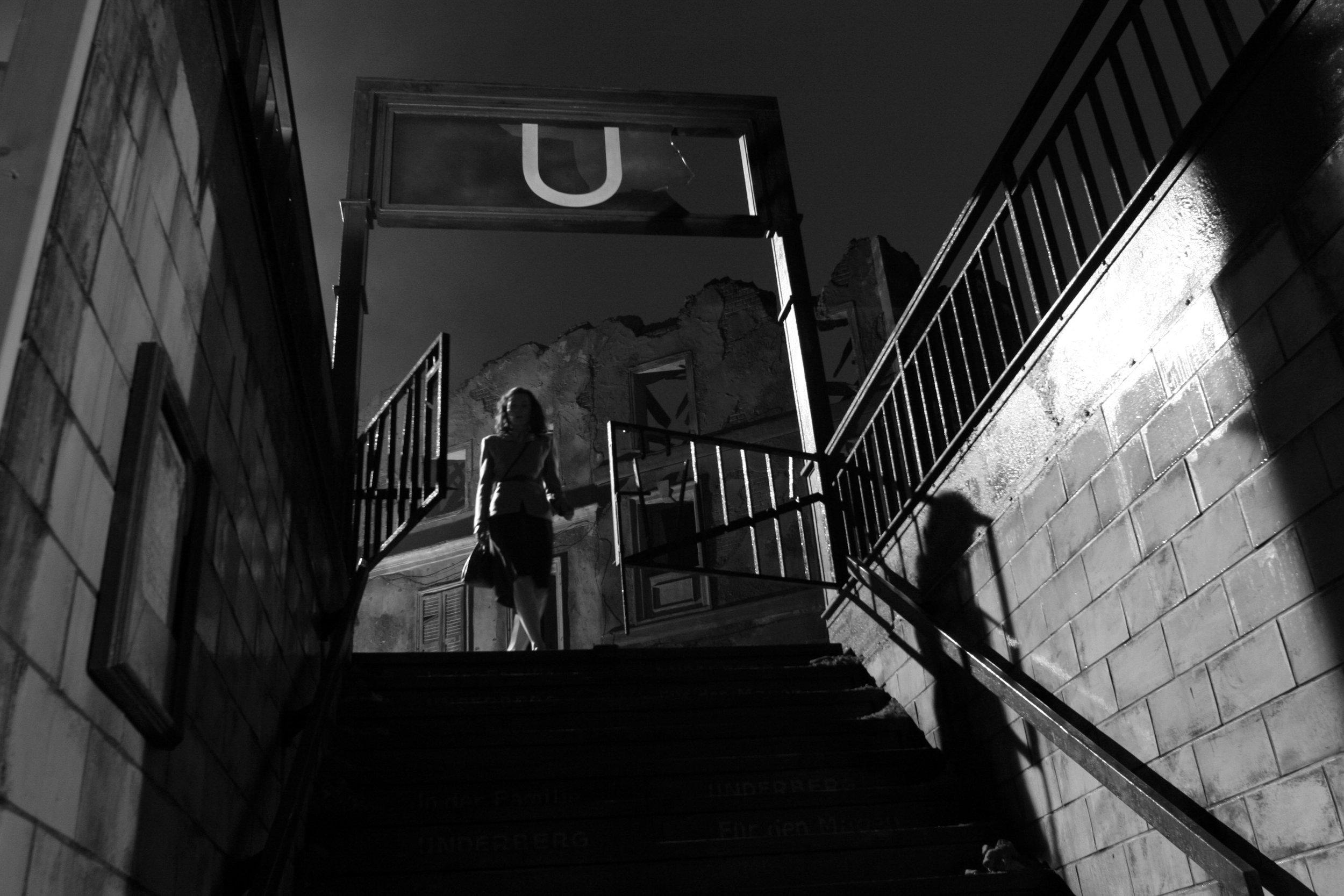 Production Still: U-Bahn Entrance