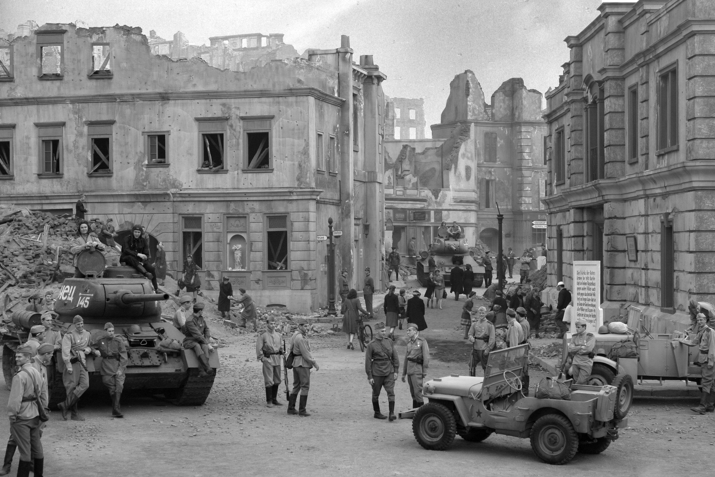 Production Still: Tank Street