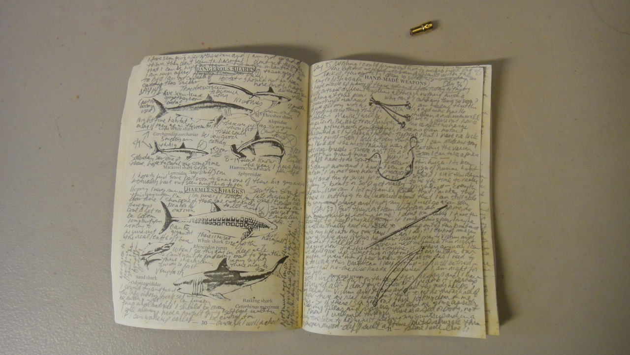 Life Boat Manual Page