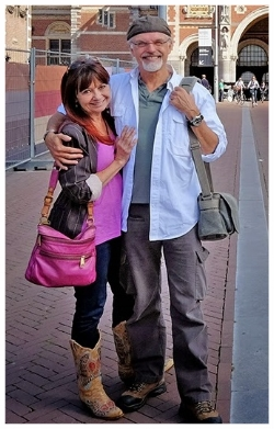 Rick Roberts and Maria Thomas Founders of Zentangle