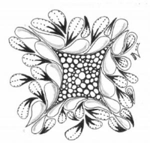 Zentangle, Doodling, Flux, Ennies