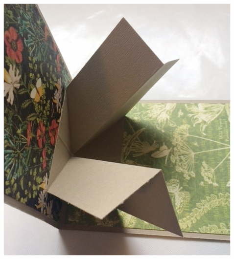Open the card slowly so that you can see the pop-up mechanism work and be sure that it is securely attached.