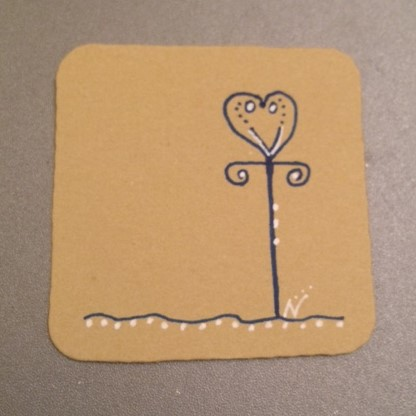 Valentangle Day 8 - New Heart Tangle