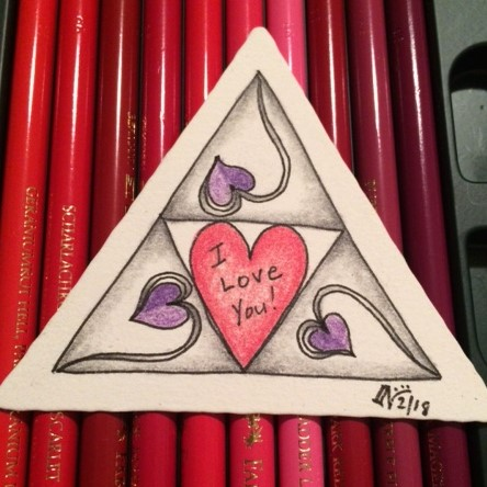 Valentangle Day 11 - Create a Heart Fragment