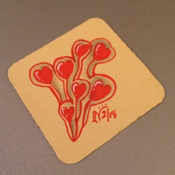Valentangle Day 13 - Dewd Hearts
