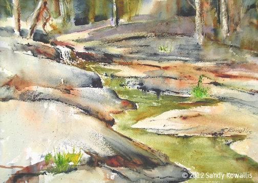 THe Dry Season - watercolor 20 x 28