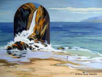 Beyond the Sea - oil 16 x 20
