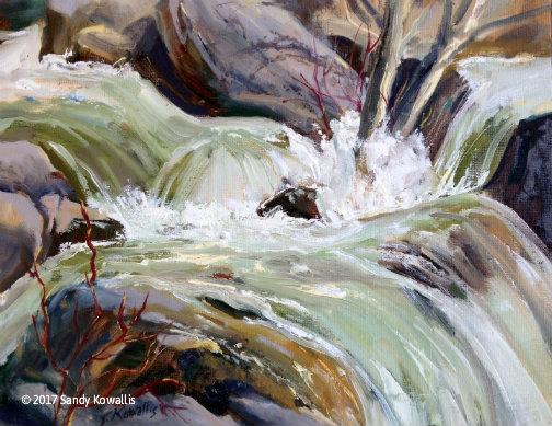 High Water Yosemite - oil-11 x 14