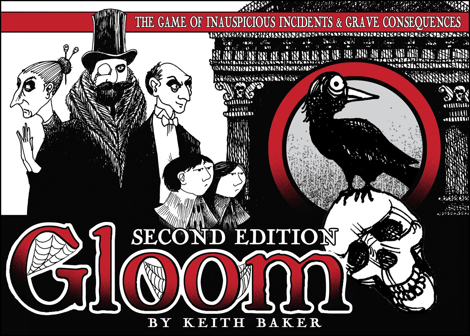 Gloom board game box