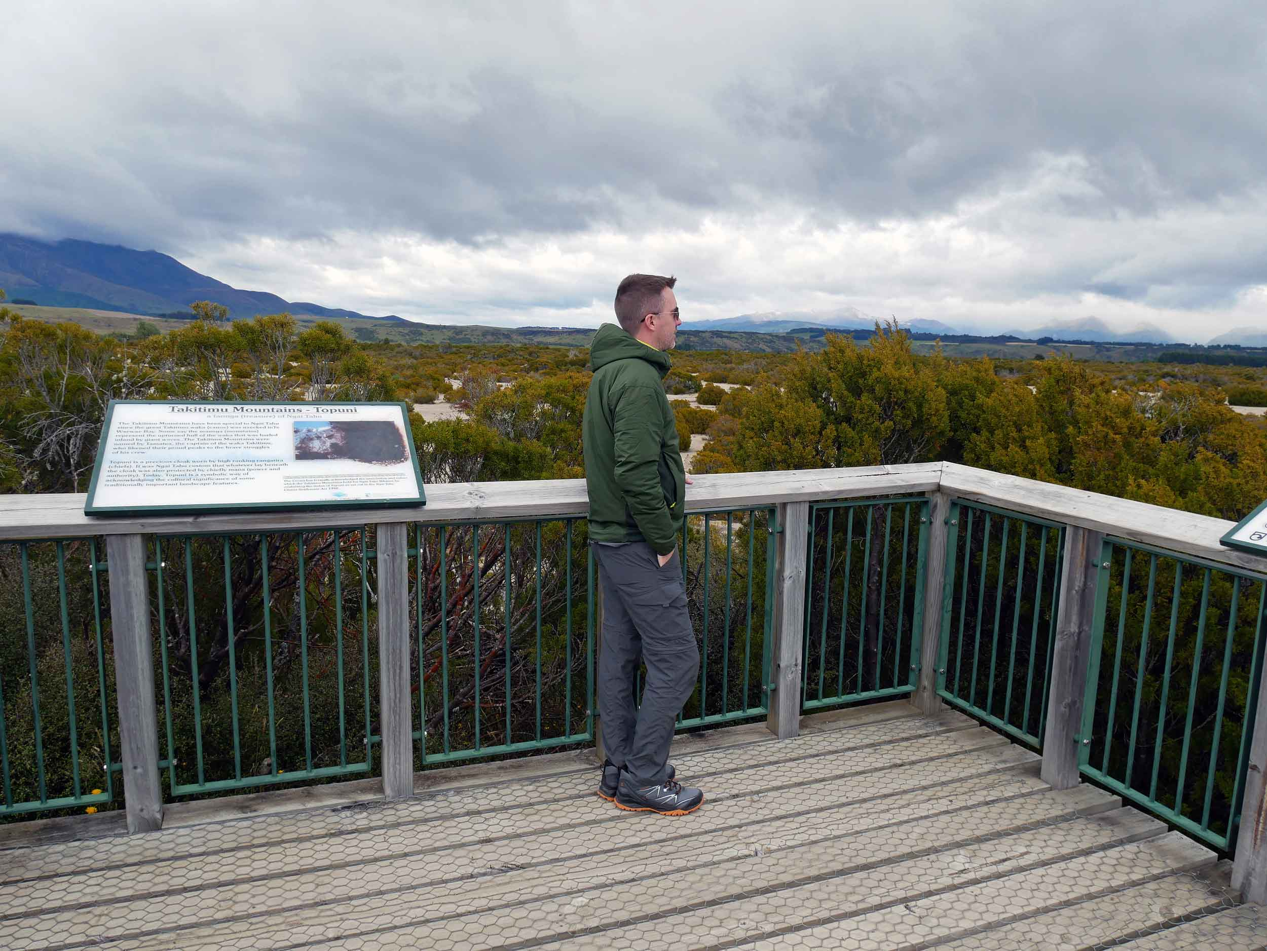 At the Wilderness Scientific Reserve near Te Anau, we got the idea of what the lands may have looked like during the last Ice Age (Jan 8).