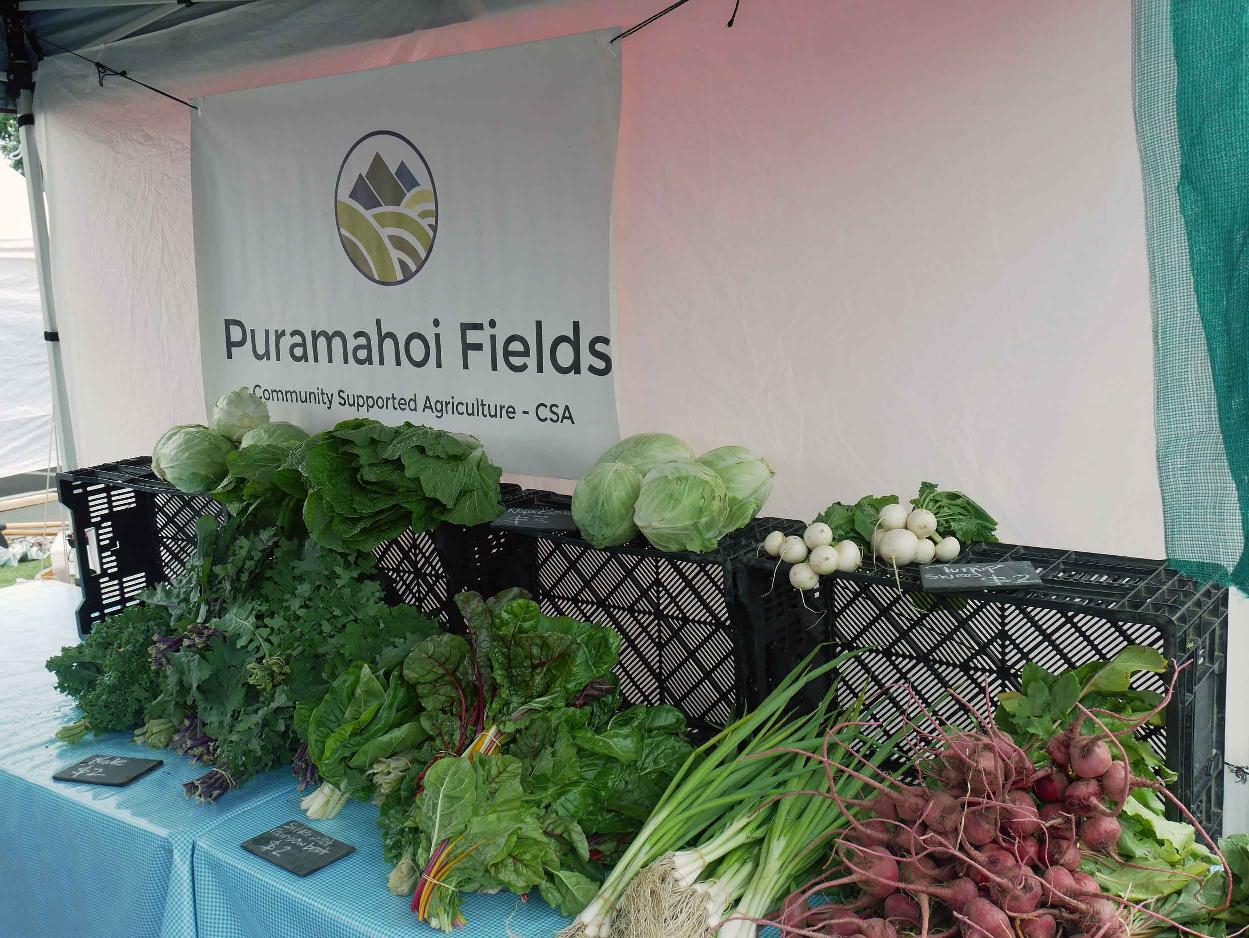 The beautiful bounty for sale from Puramahoi Fields.