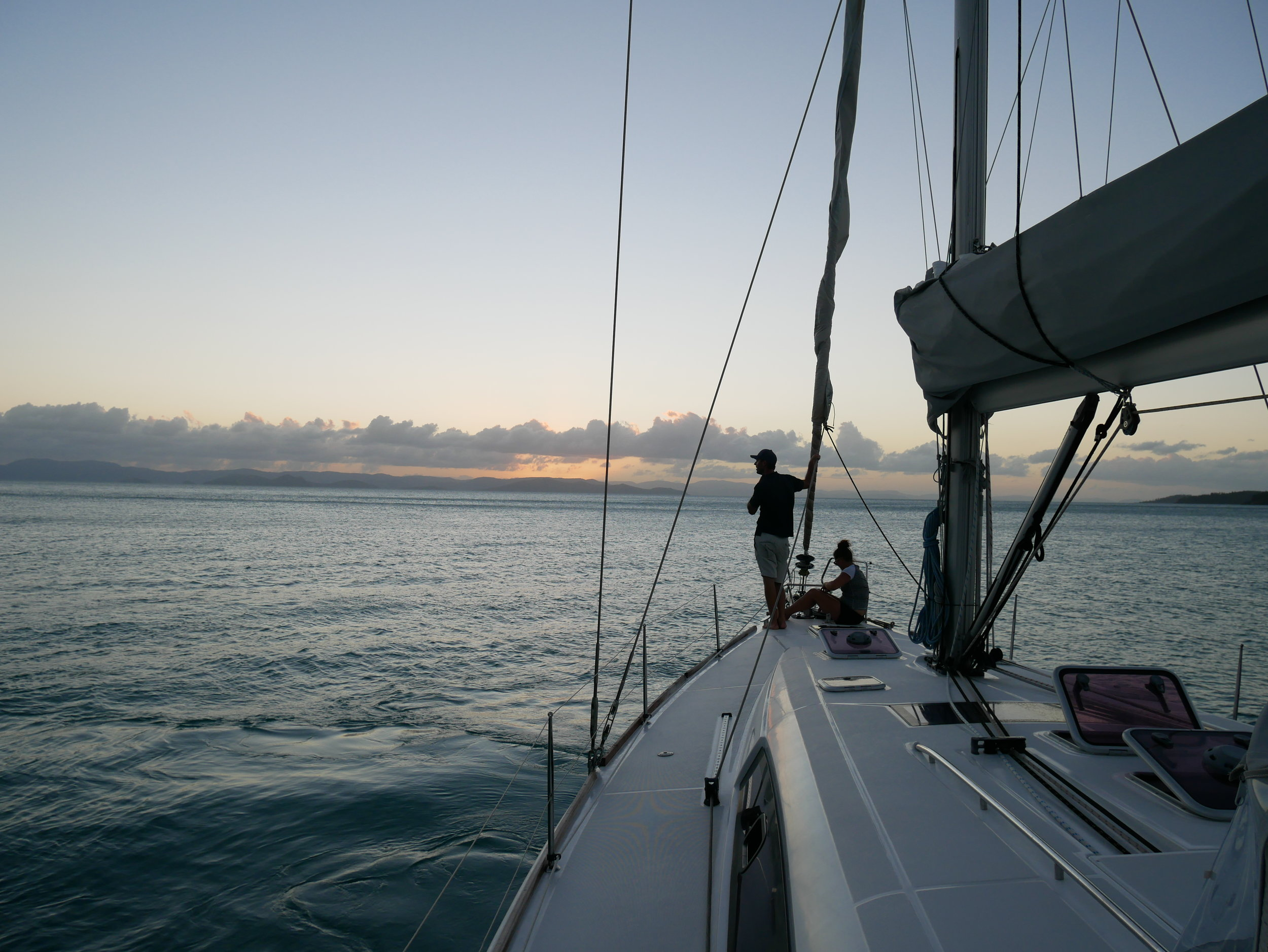 Skipper Danny and first mate Heidi took great care of us over our time in the Coral Sea (Jan 29).