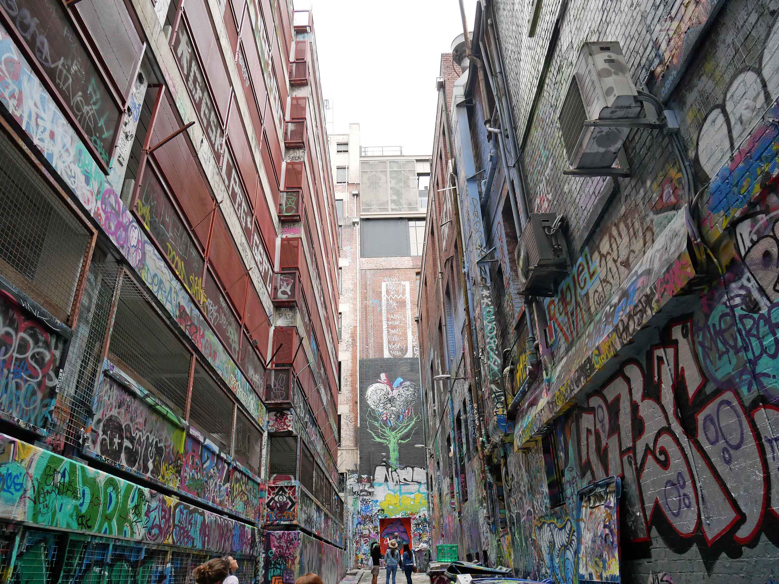 If Melbourne is known as one of the world's great street art capitals, then Hoiser Lane is the heart of it all (Jan 26).