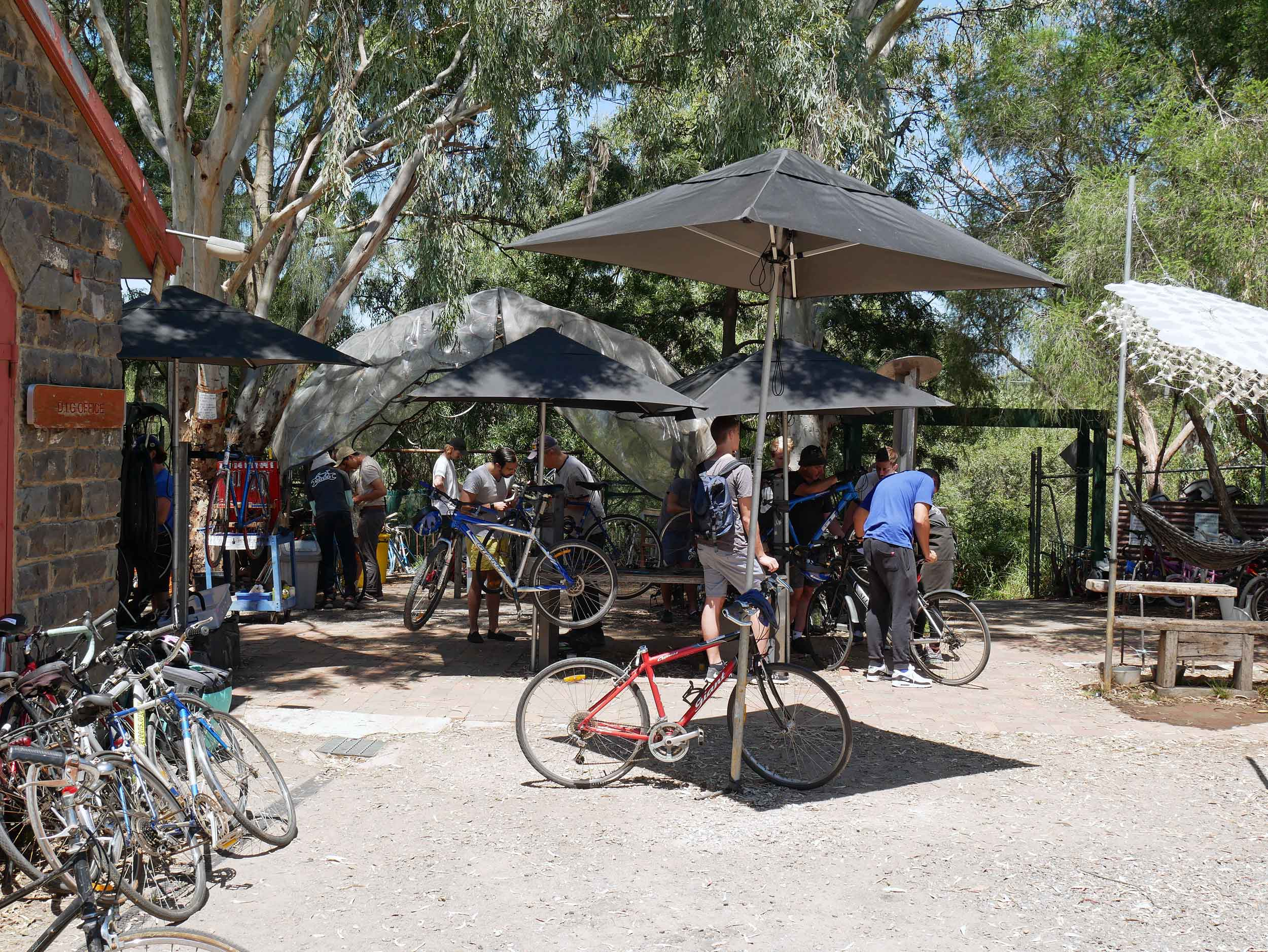 Bike troubles? No worries, you can learn how to fix it (or build a new one from spare parts available for free!) at the DIY CERES Bike Shed manned by knowledgeable volunteers (Jan 26).