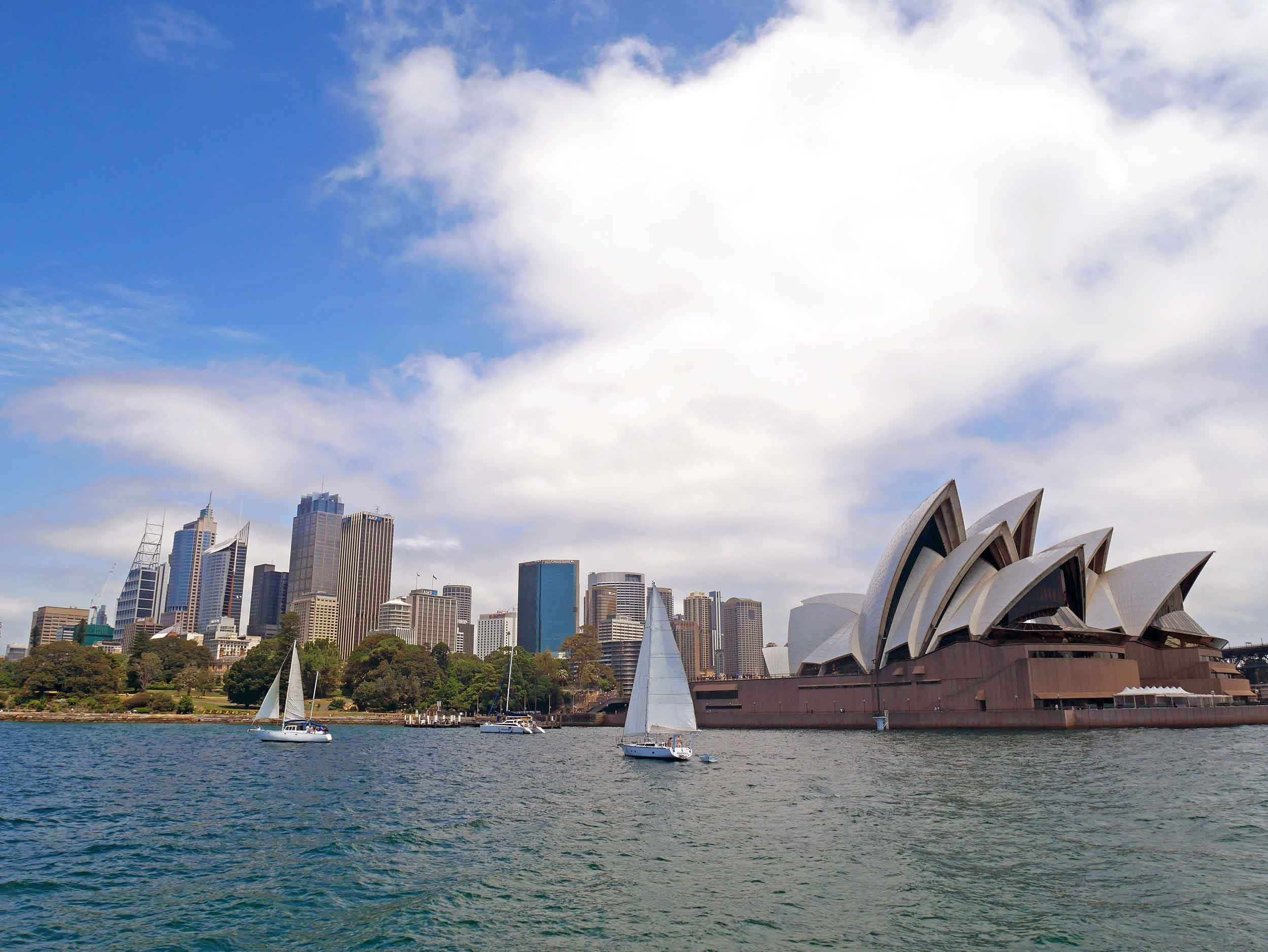 A ferry ride through Sydney Harbour is a must-do (Feb 4).