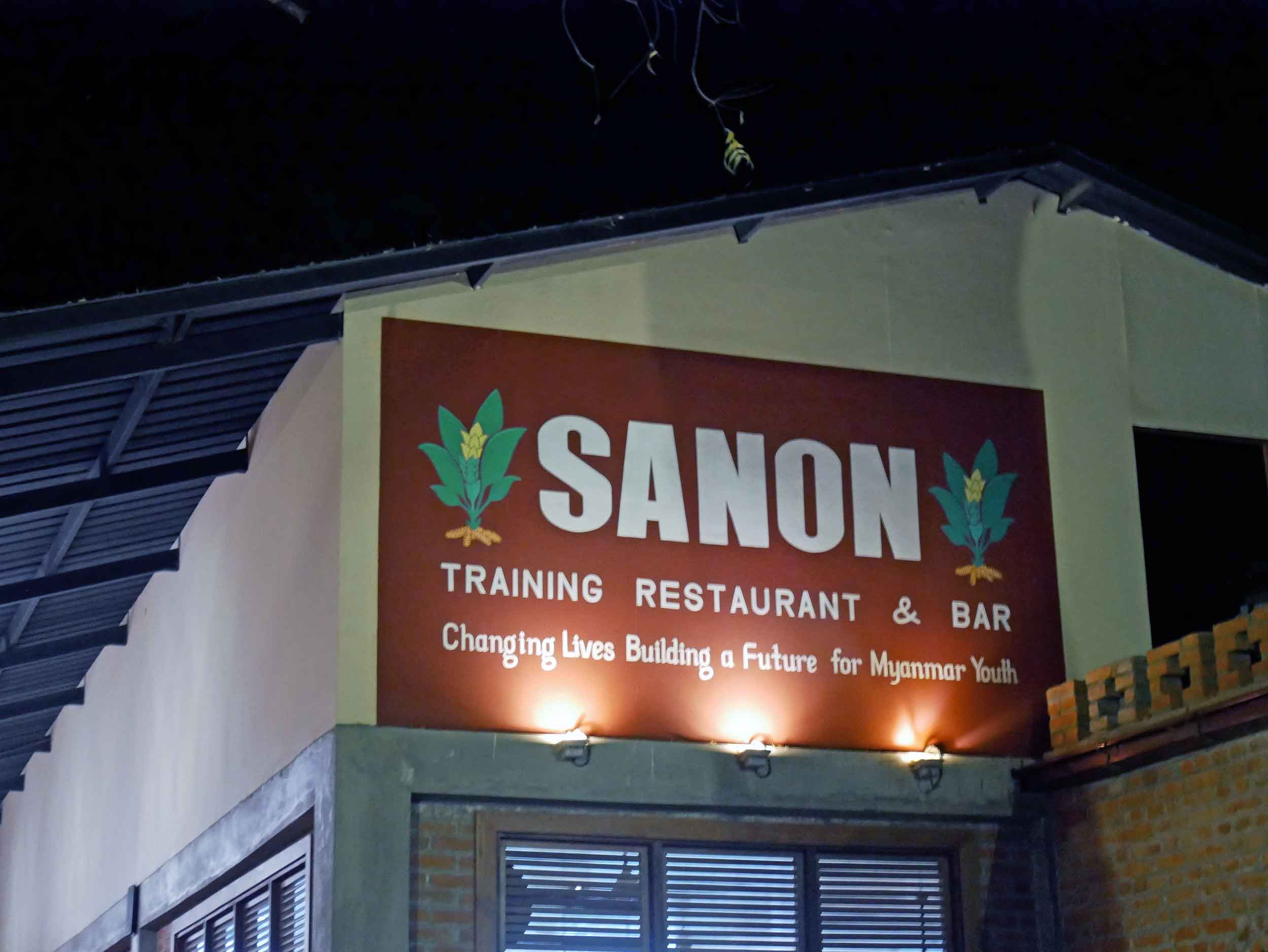 Sanon teaches students proper cooking techniques as well as hygiene, serving, and other hospitality skills.