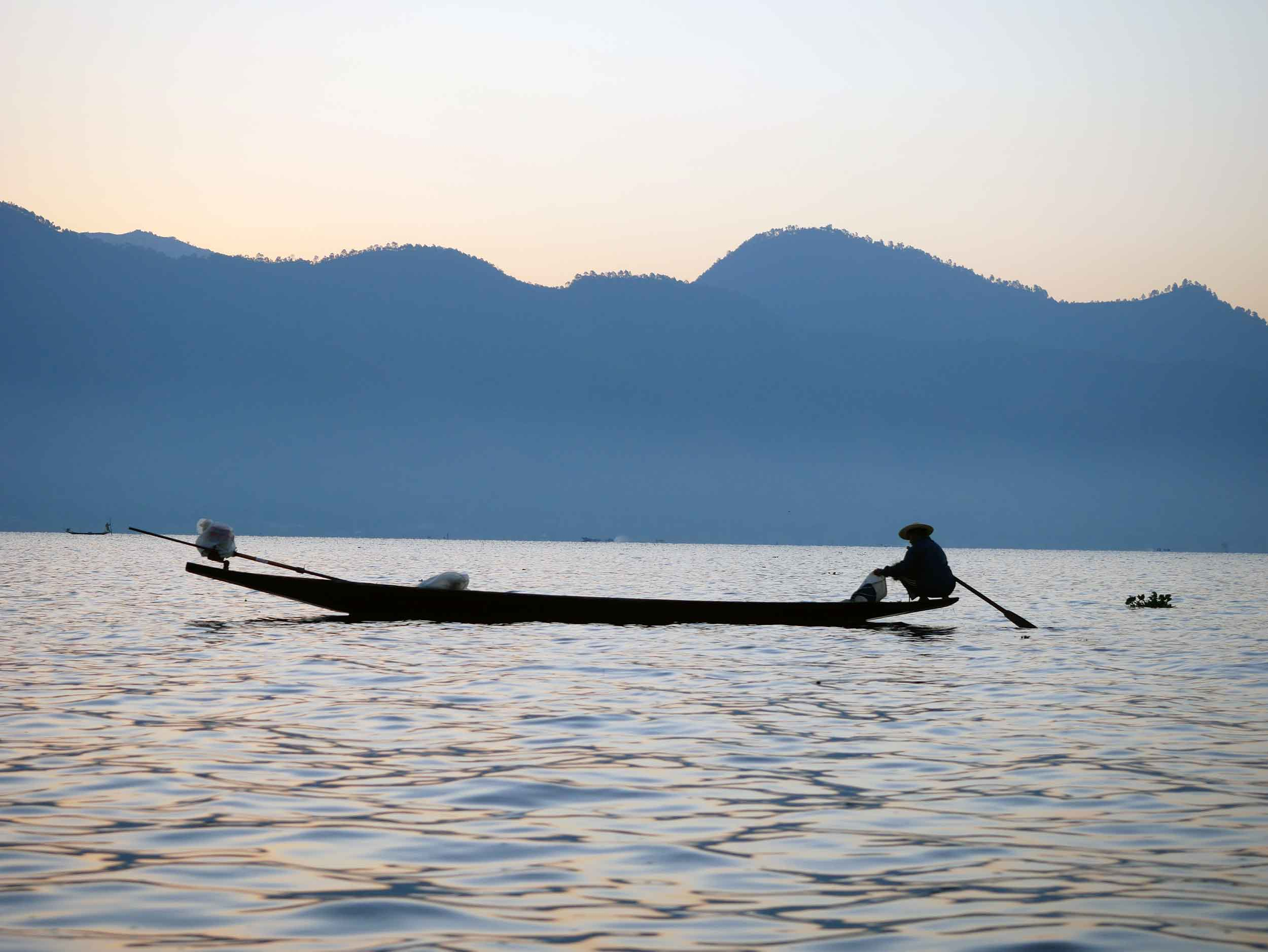 As you would expect, fish caught in Inle are staples of the local diet (Feb 22).