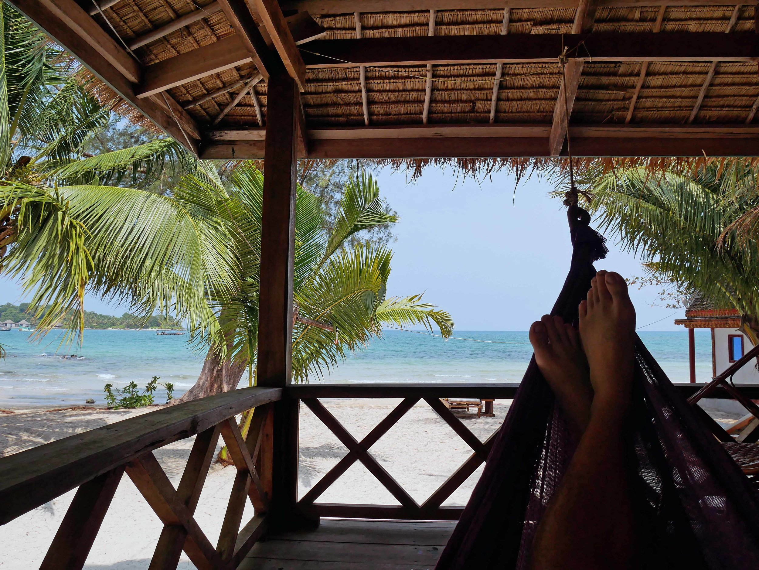 Our week on Koh Rong allowed for plenty of time for rest, reflection and Vitamin D (March 2-9).