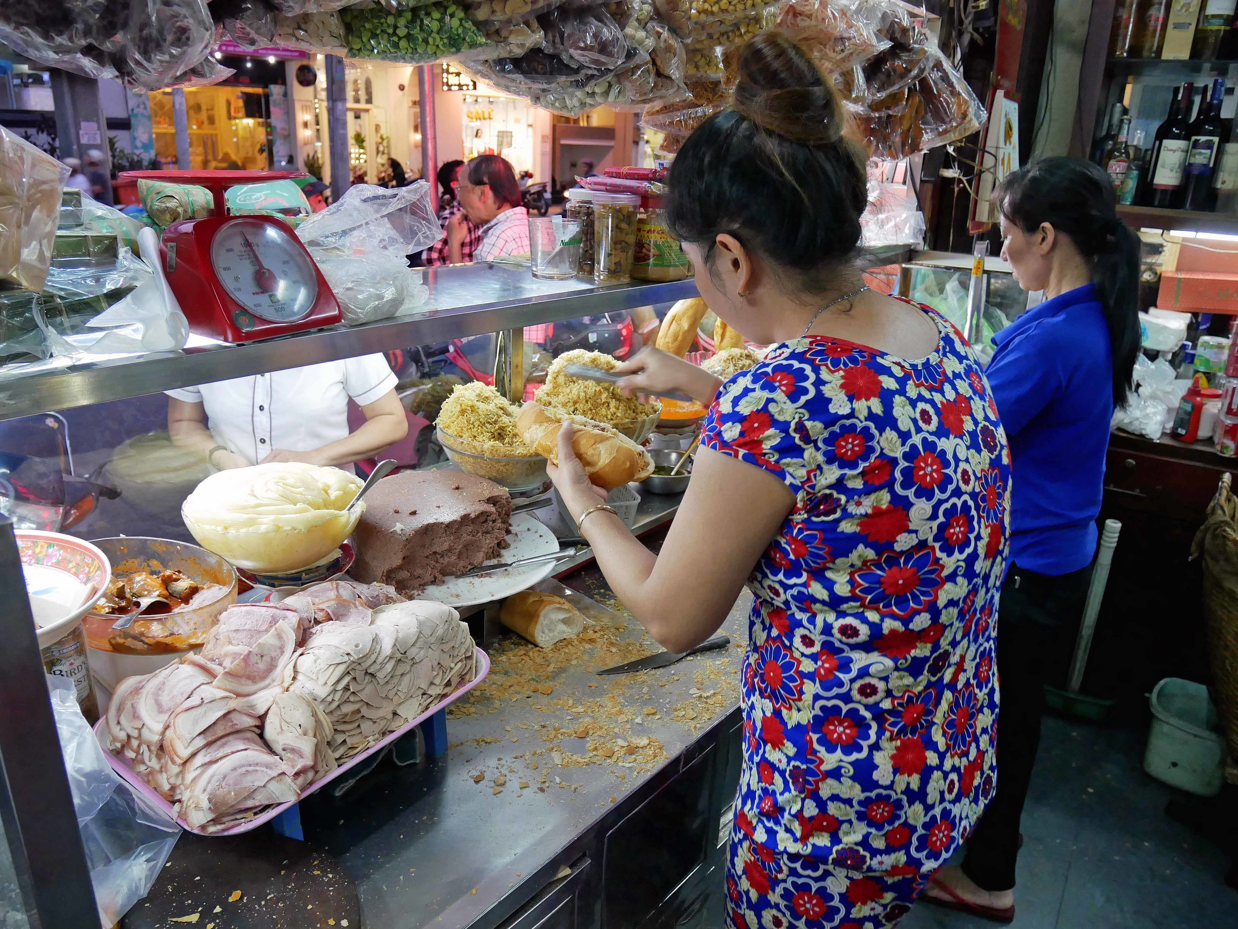 Think Vietnamese version of your local sandwich shop, Banh Mi are served all throughout the country.