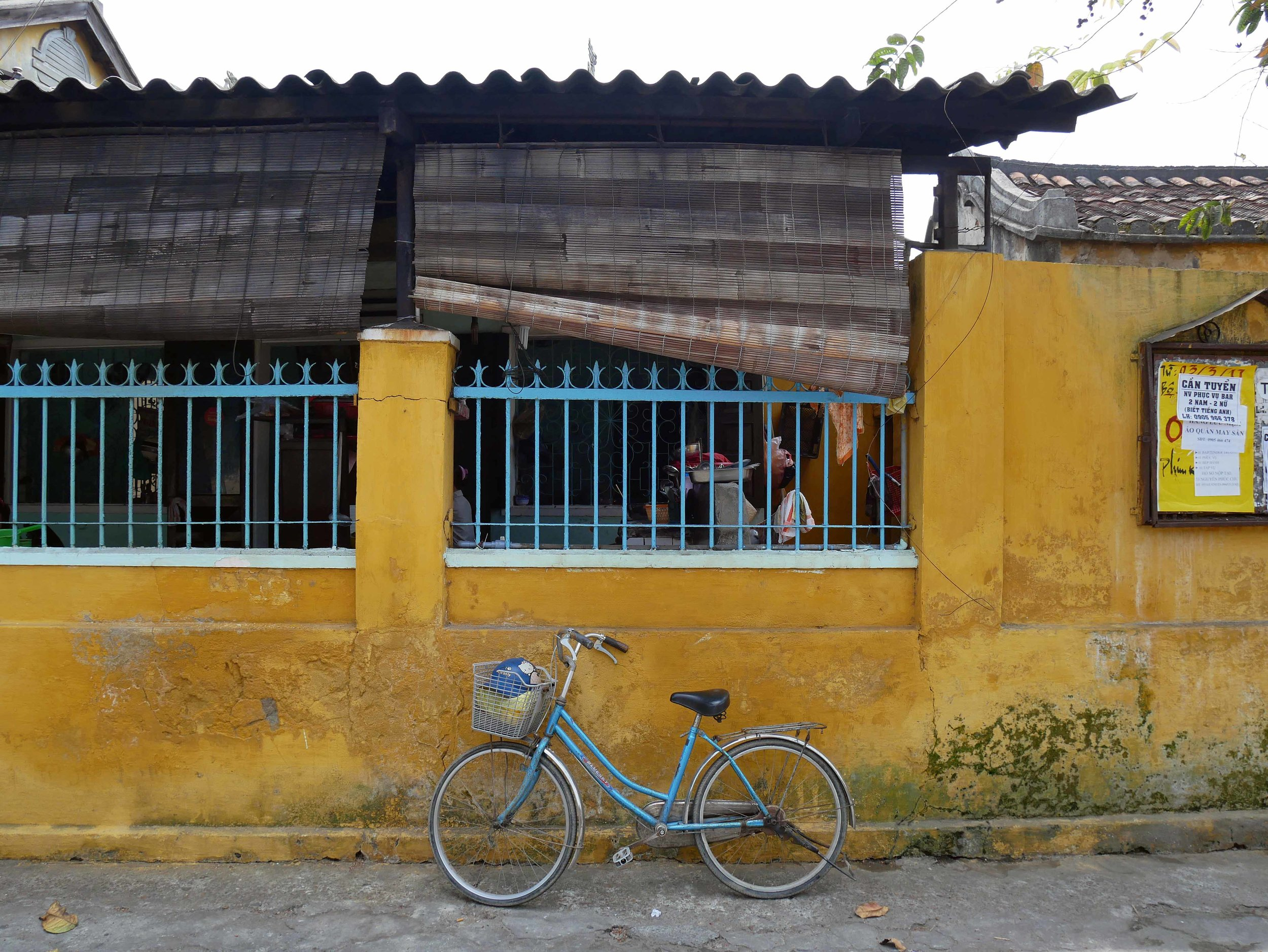 Hoi An Ancient Town is pedestrian and bicycle only, which gives some reprieve from the buzzing city motorbikes.