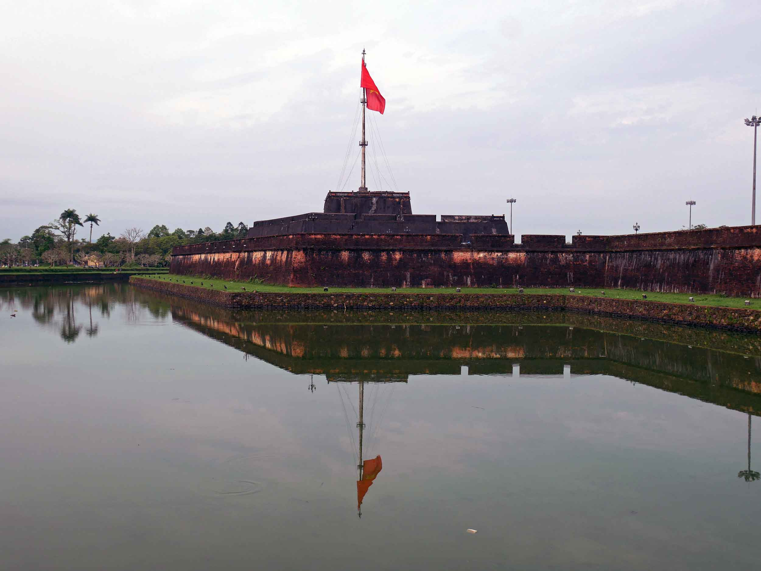 We spent the next day exploring the Hue Imperial City, inside of the massive Citadel (March 19).