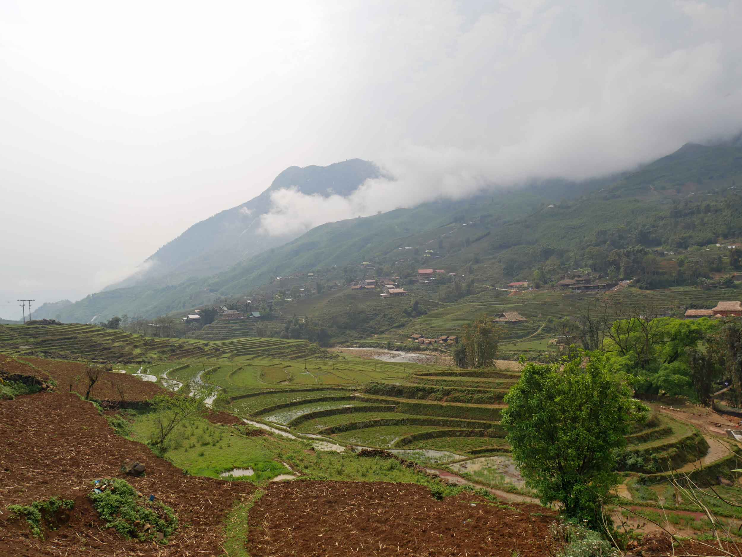 Gazing out across the fields of fallow rice terraces, you can almost feel the centuries of human effort and energy in this place (Mar 25).
