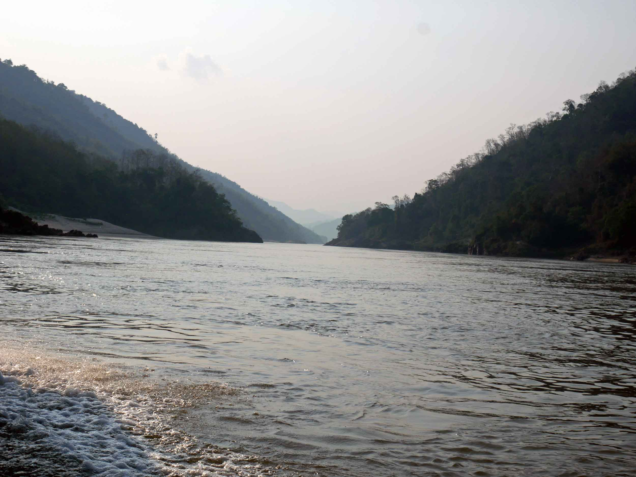 The slow boat was a beautiful way to travel to Thailand, and see another side of Laos away from the towns and tourists.