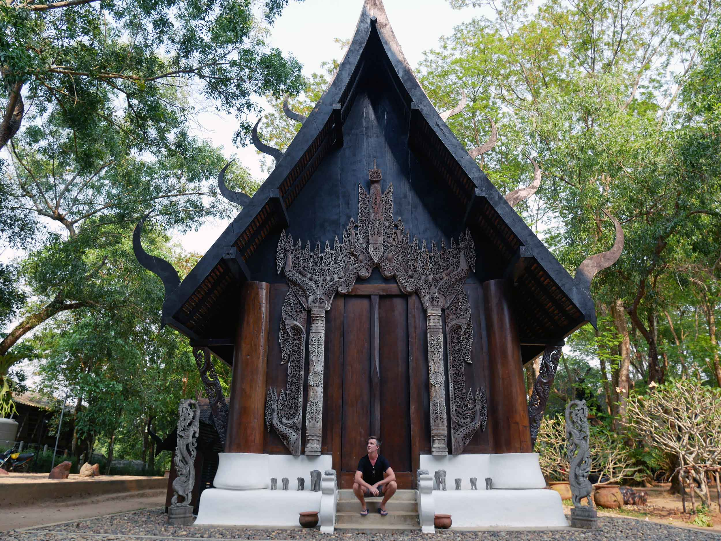 The Black House is actually made up of more than 40 buildings, each filled with displays of Thawan Duchanee's work.