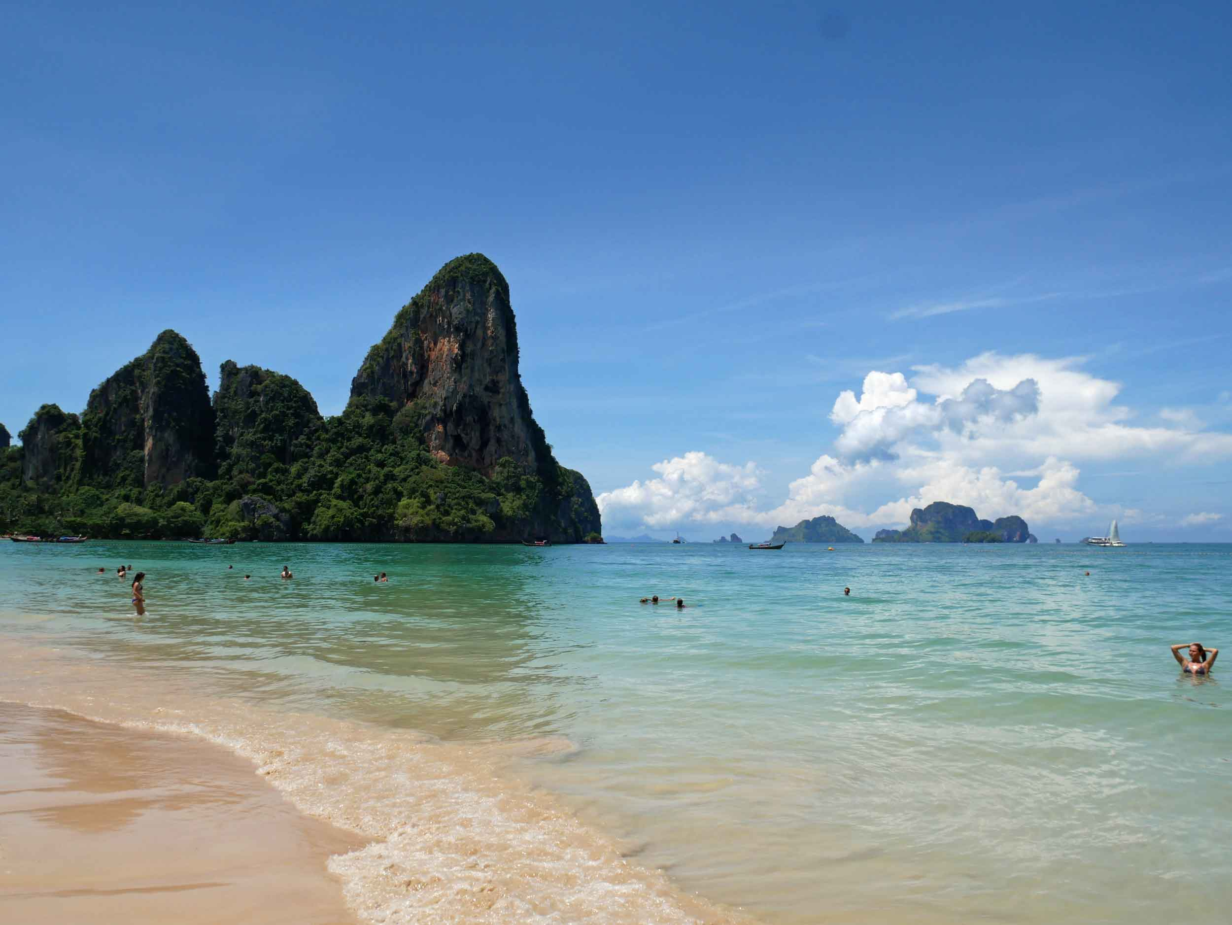 The west coast of Railay is a stunning place to spend the afternoon.