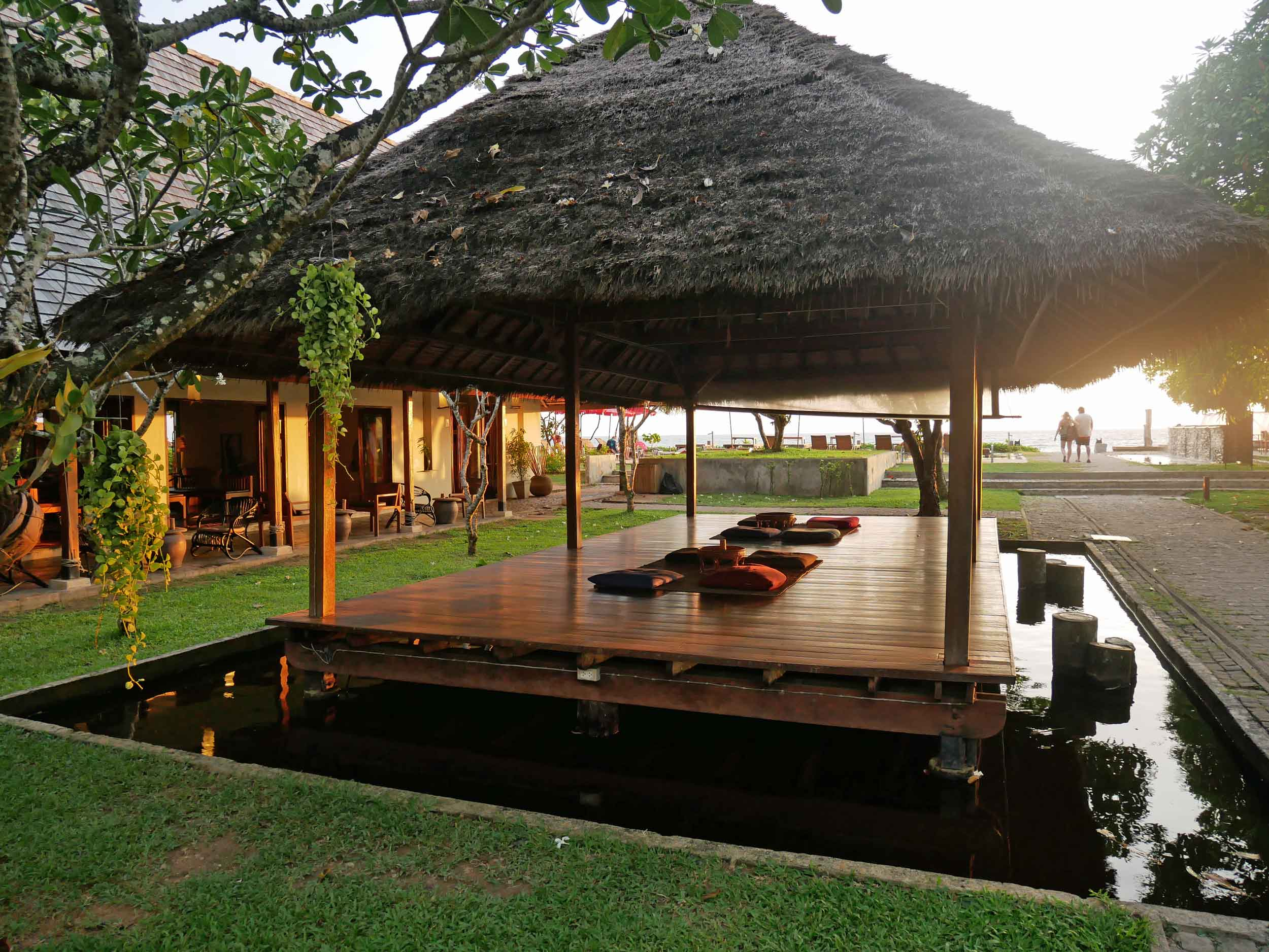 The Sri Lanta resort was our home on Ko Lanta, offering a scenic spot to recharge.