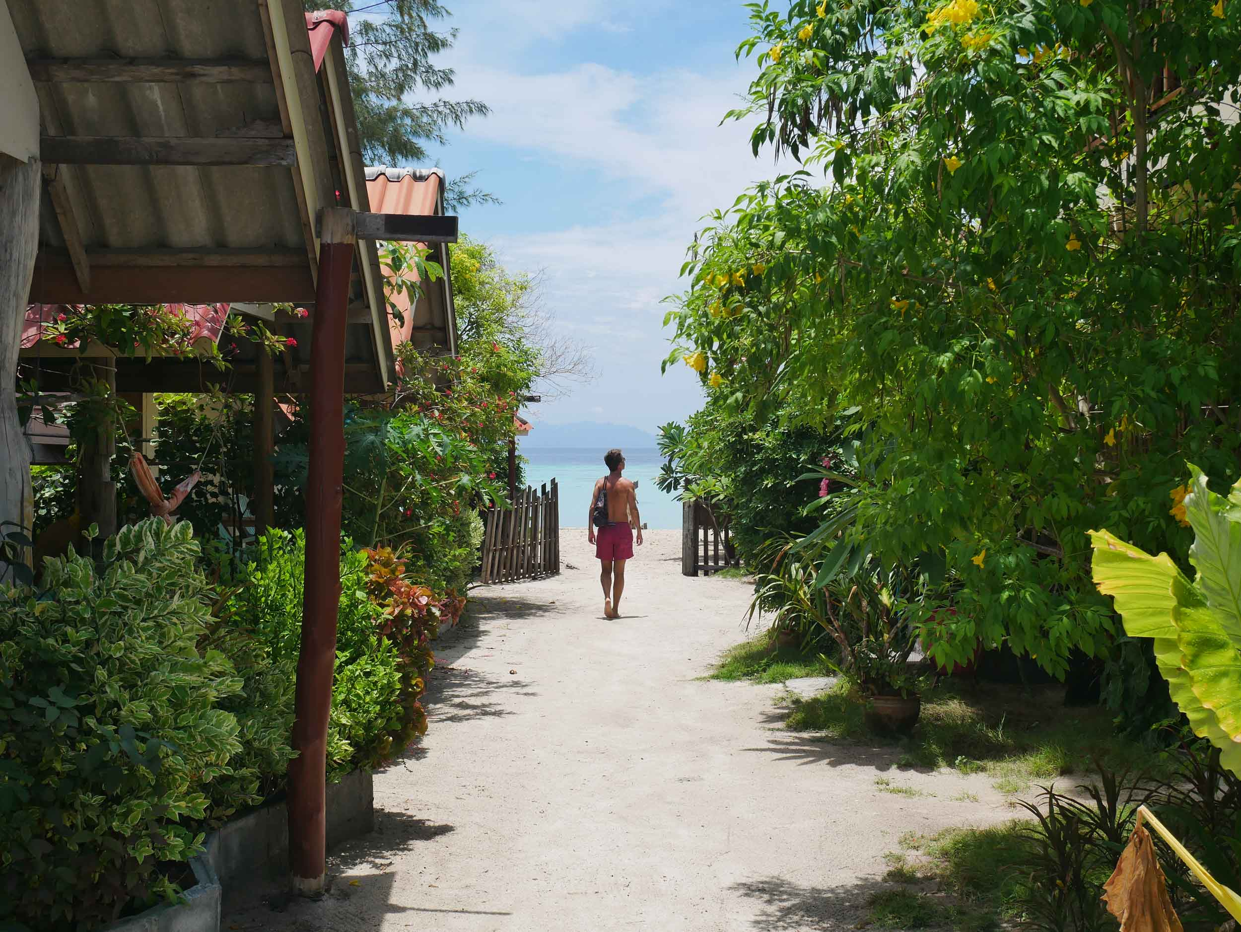 Ko Lipe, near the Malaysian border, offered another perfect beach and warm shallow waters.