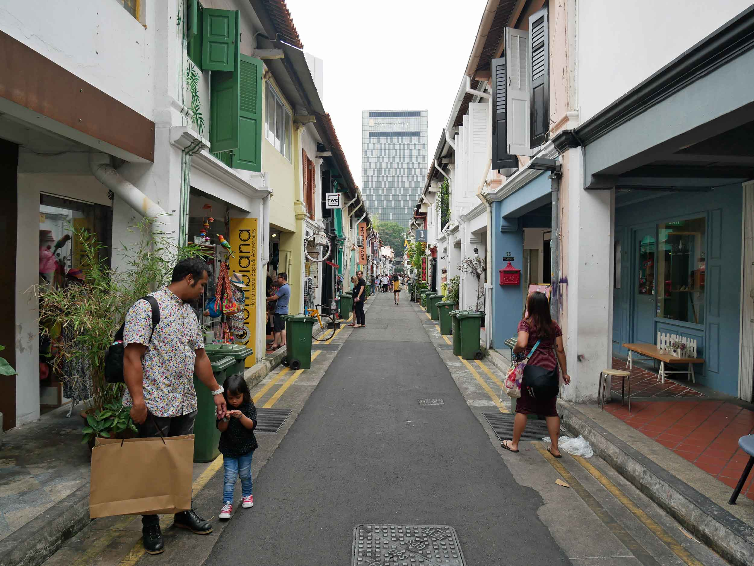Hip Haji Lane lined with pubs, cafes and shops offering the latest trend of the moment.