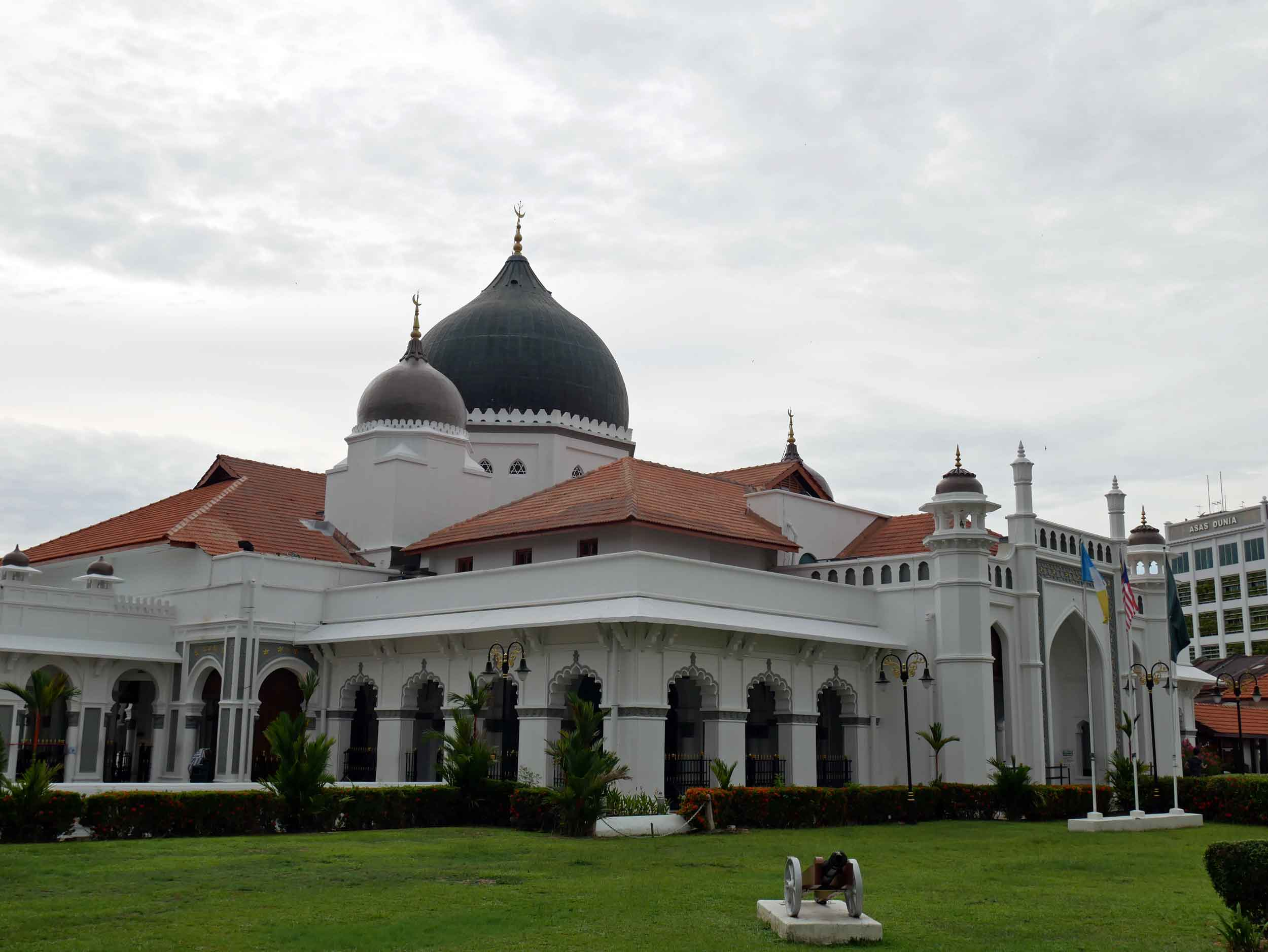 "Located on Penang's ""Street of Harmony,"" Kapitan Keling Mosque was built in the early 1800s by Indian Muslim traders (April 26)."