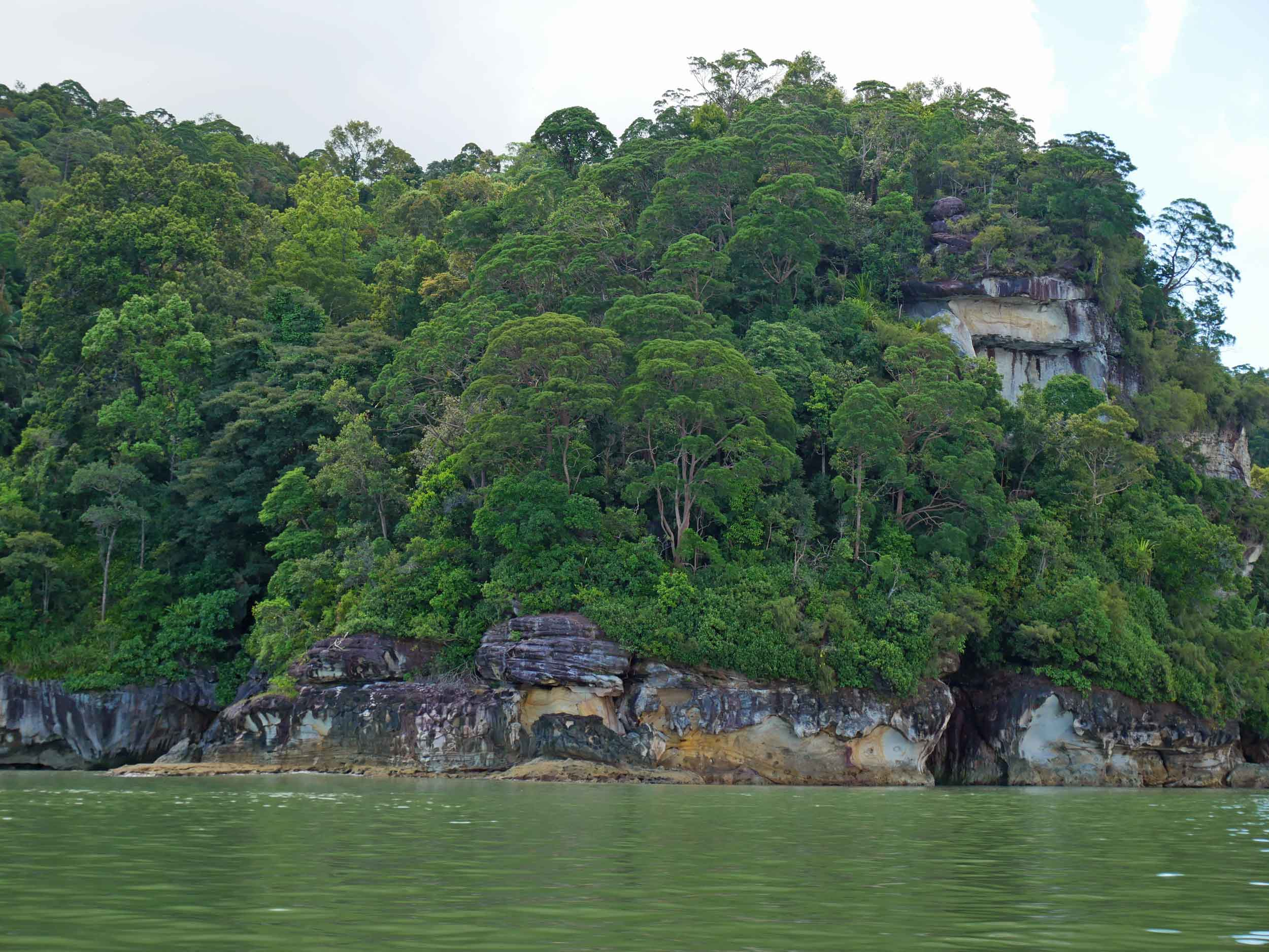 With the coastal cliffs surround Bako, its easy to see why the boat trip is warranted!