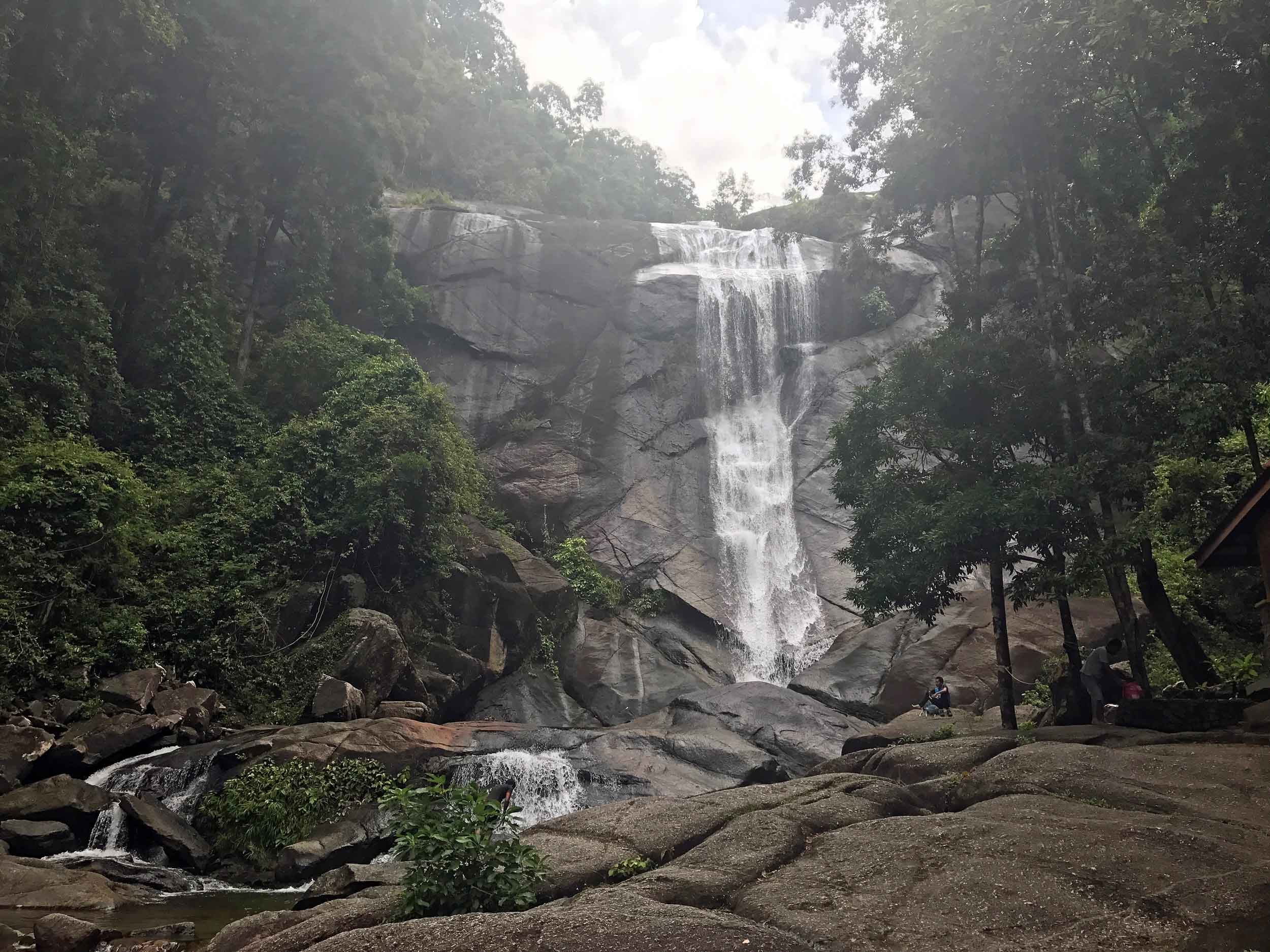 Beached out, we chased a few of Langkawi's roaring waterfalls, including Seven Wells pictured here (April 24).