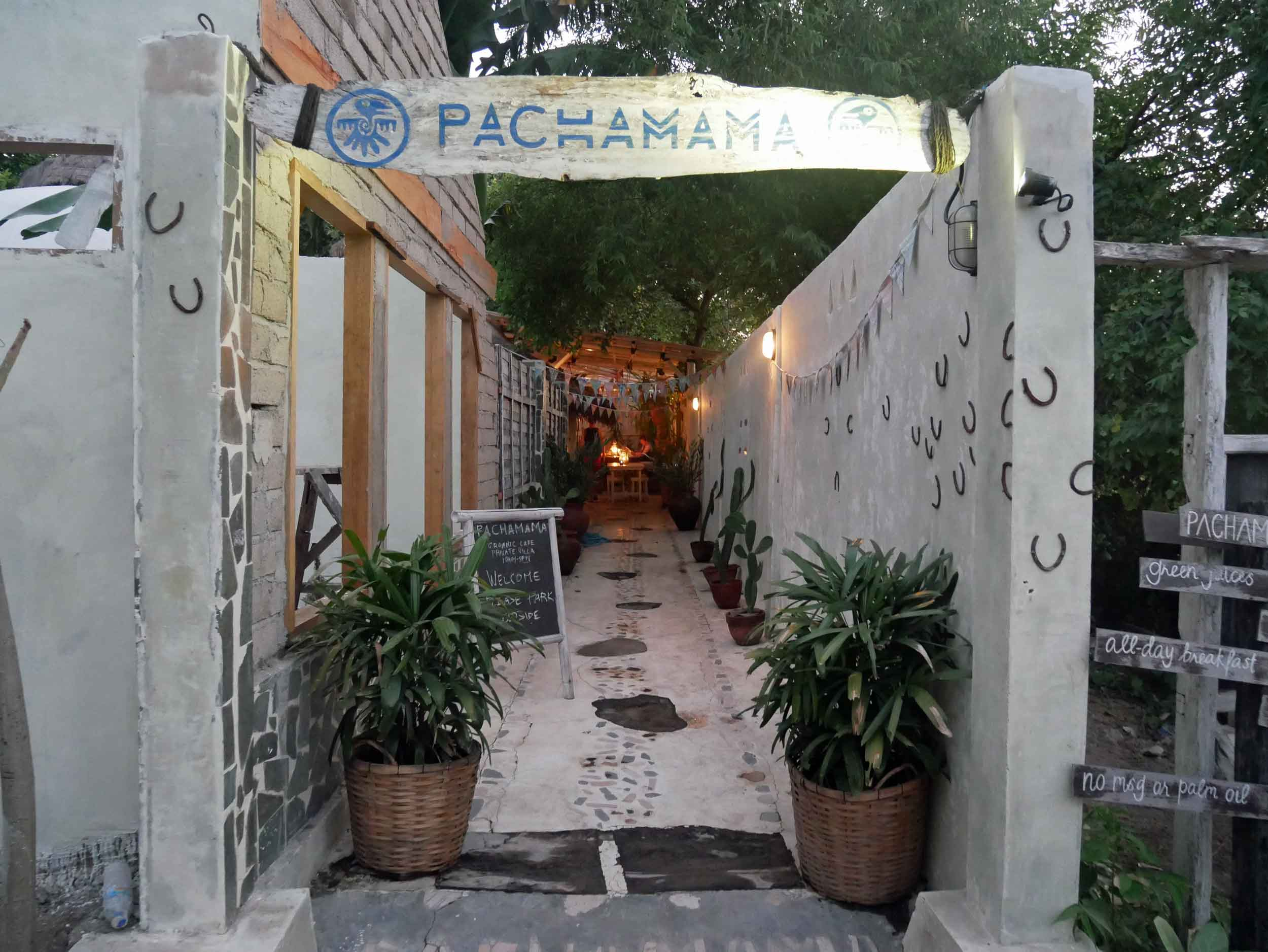 We felt right at home at Pacha Mama with its understated design and menu of organic delights.