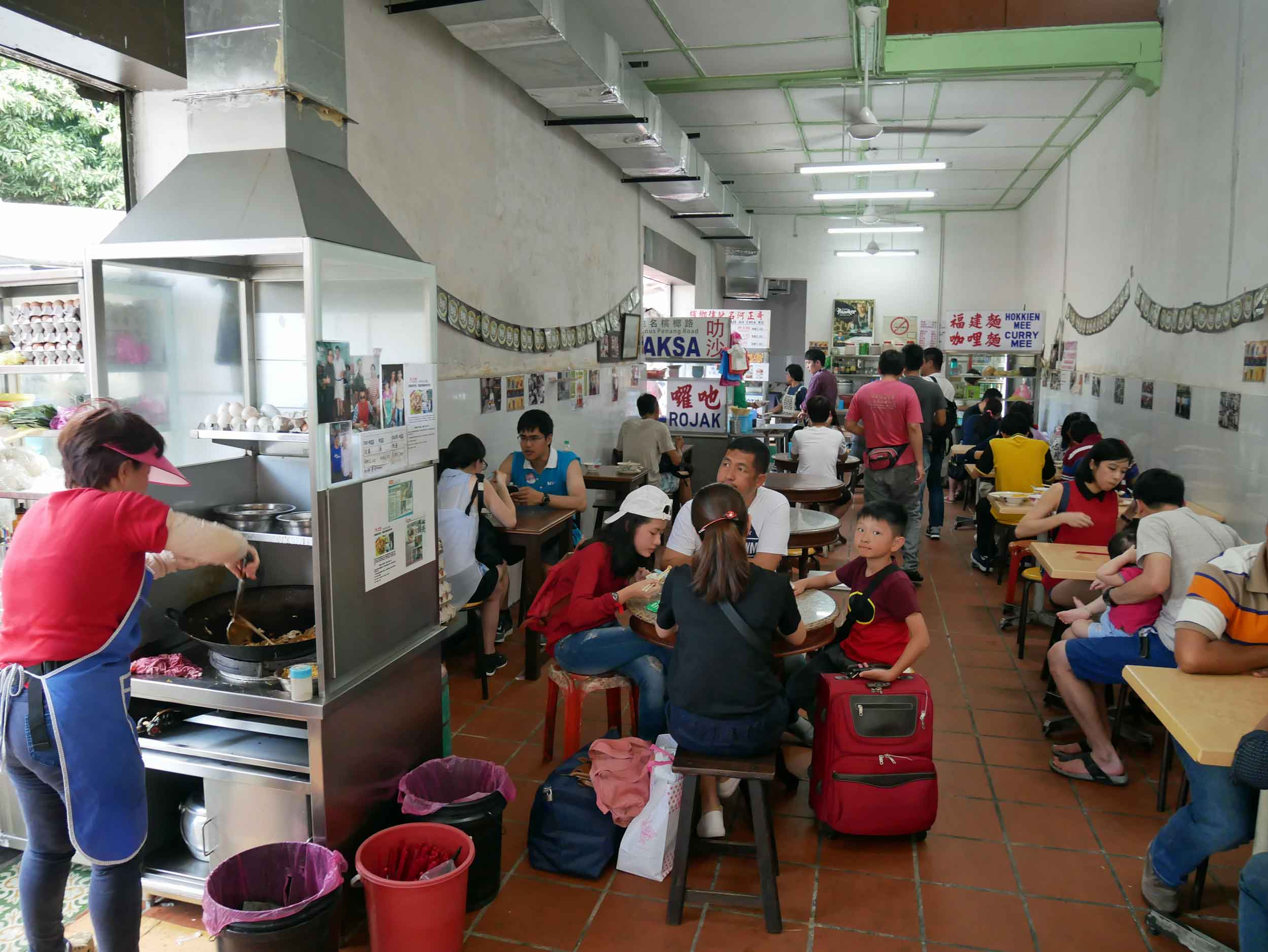 Arriving midday in George Town, we headed straight to Joo Hoi Cafe for all the Malay street food delights (April 25).