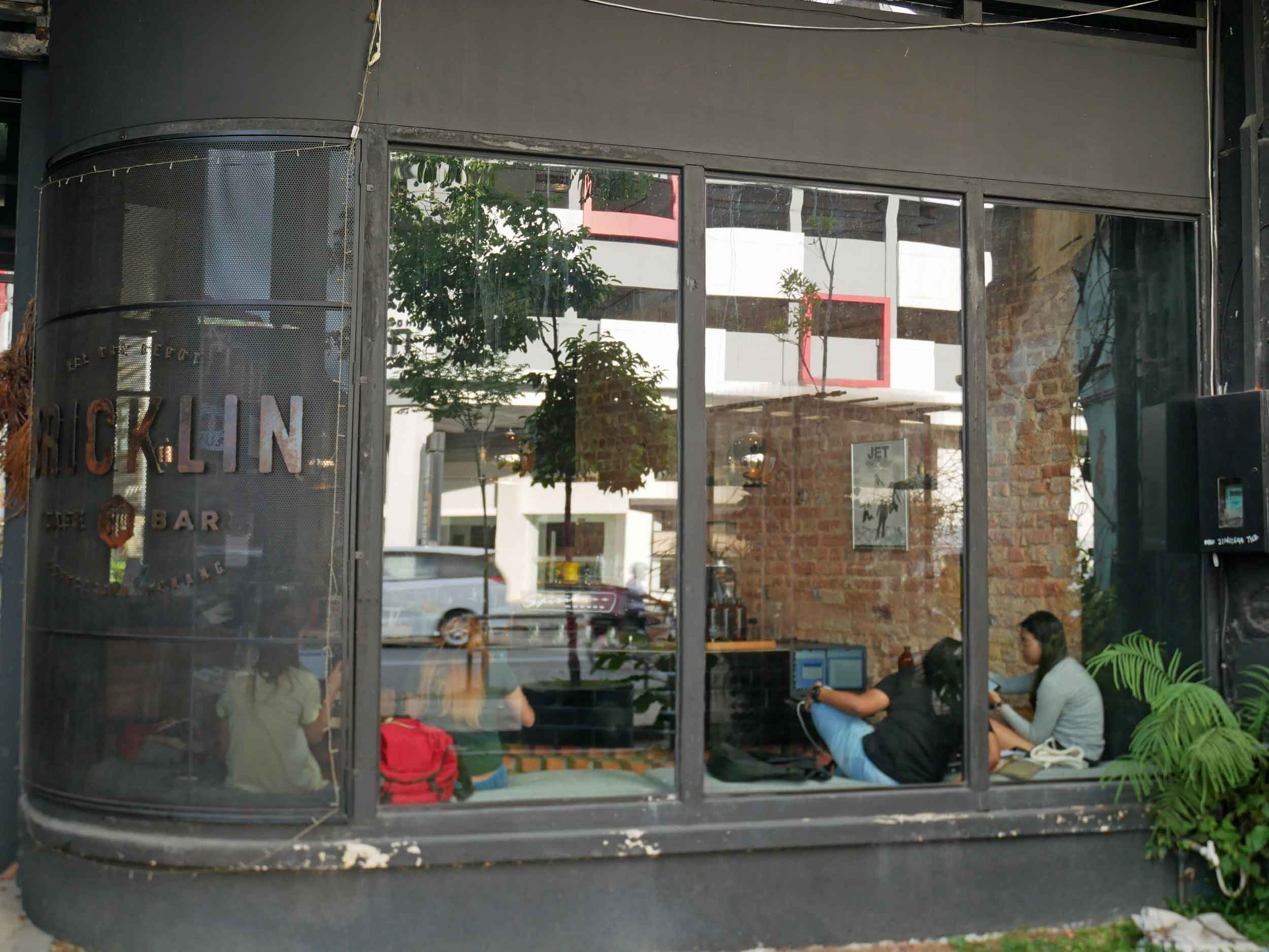 """Bricklin Cafe Bar, a cozy spot for a coffee and pastry, gets its name from the road on which it sits, previously known as """"Brick Kiln."""""""