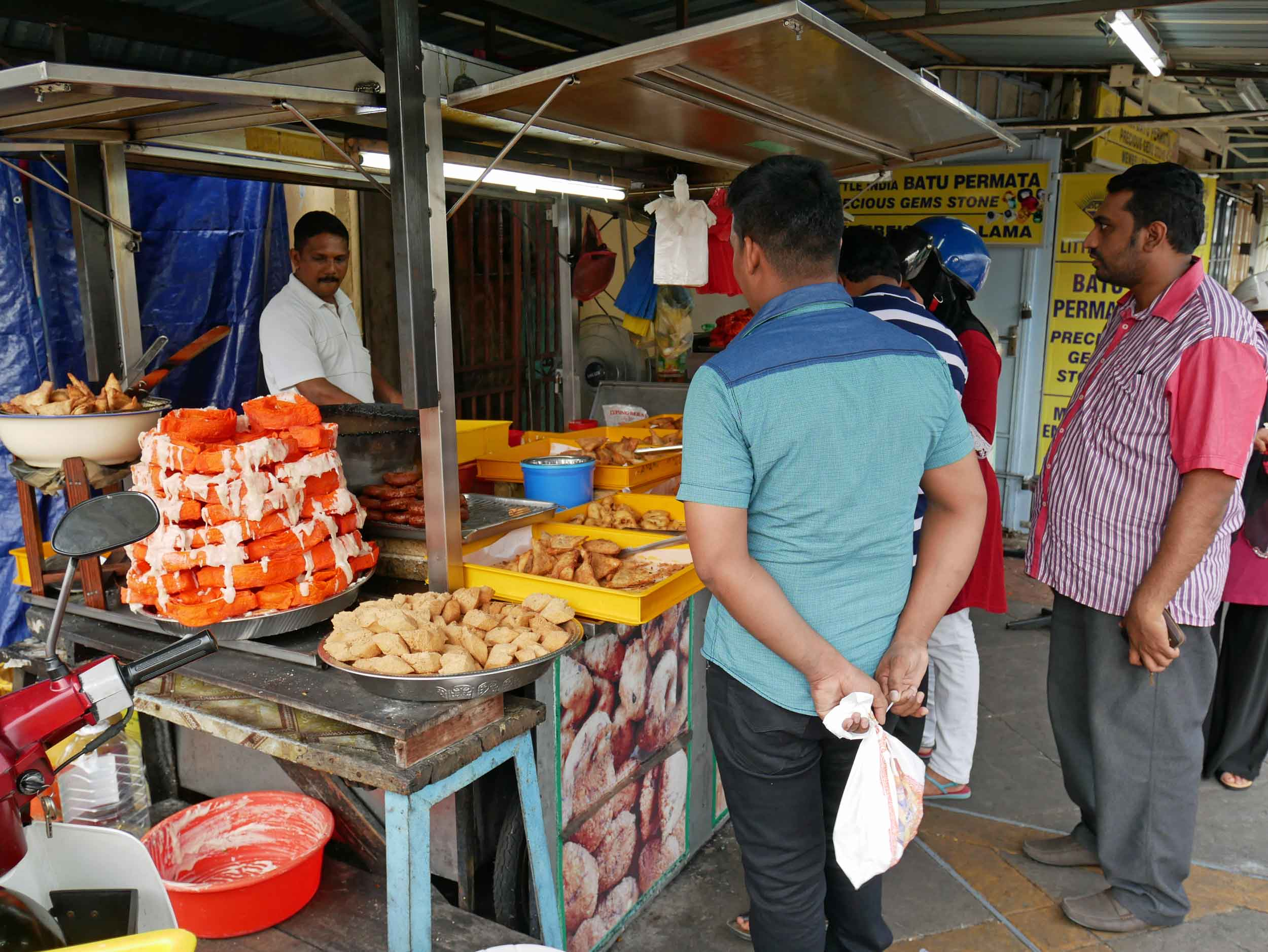 George Town has a thriving Little India with plenty of tasty food both on the street and in cafes (April 27).