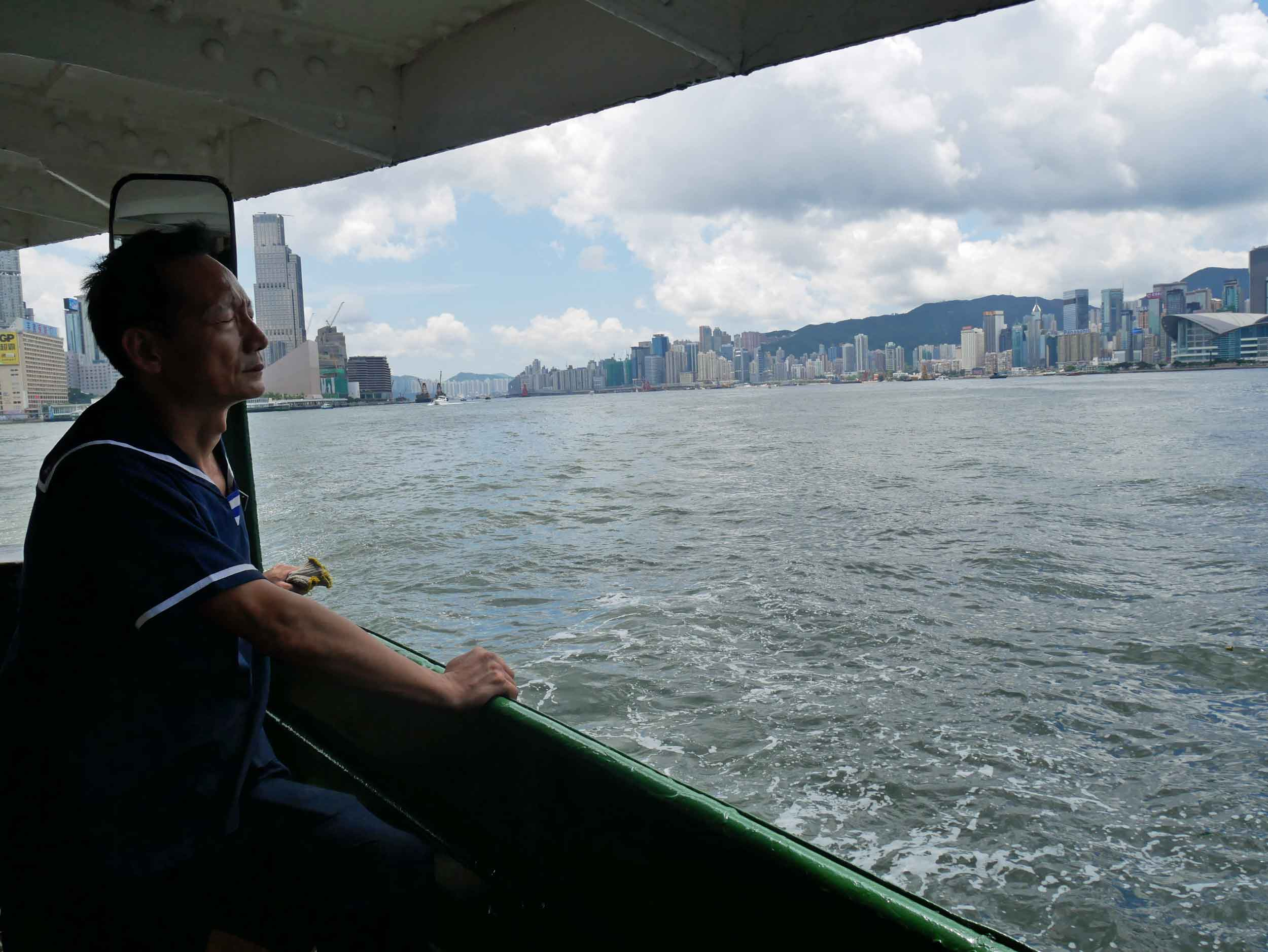 In the afternoon, we took the ferry back across Victoria Harbour to meet up with friends for lunch in the Wan Chai area.