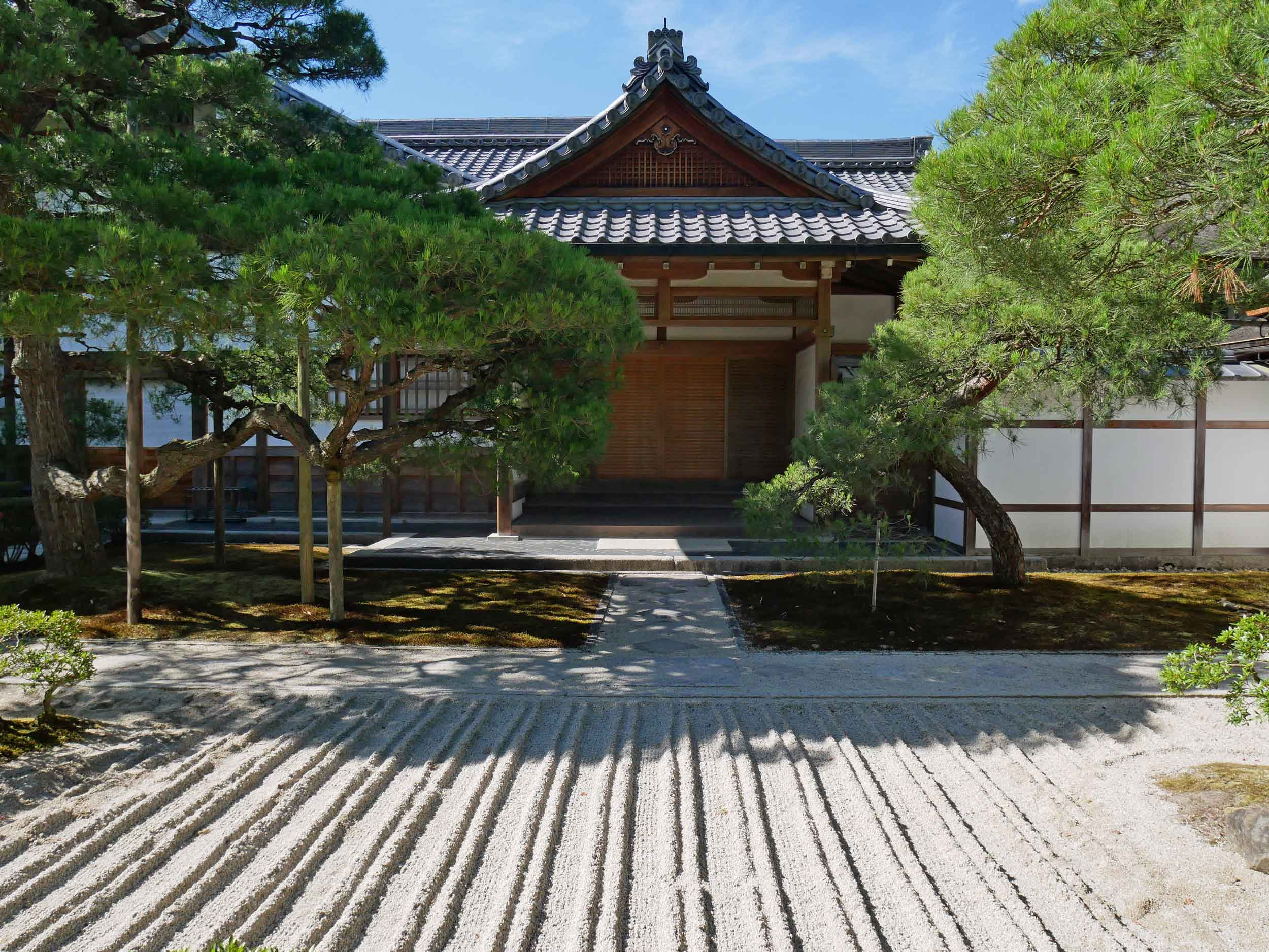 You will never see another Zen raked sand garden like those of Ginkaku-ju