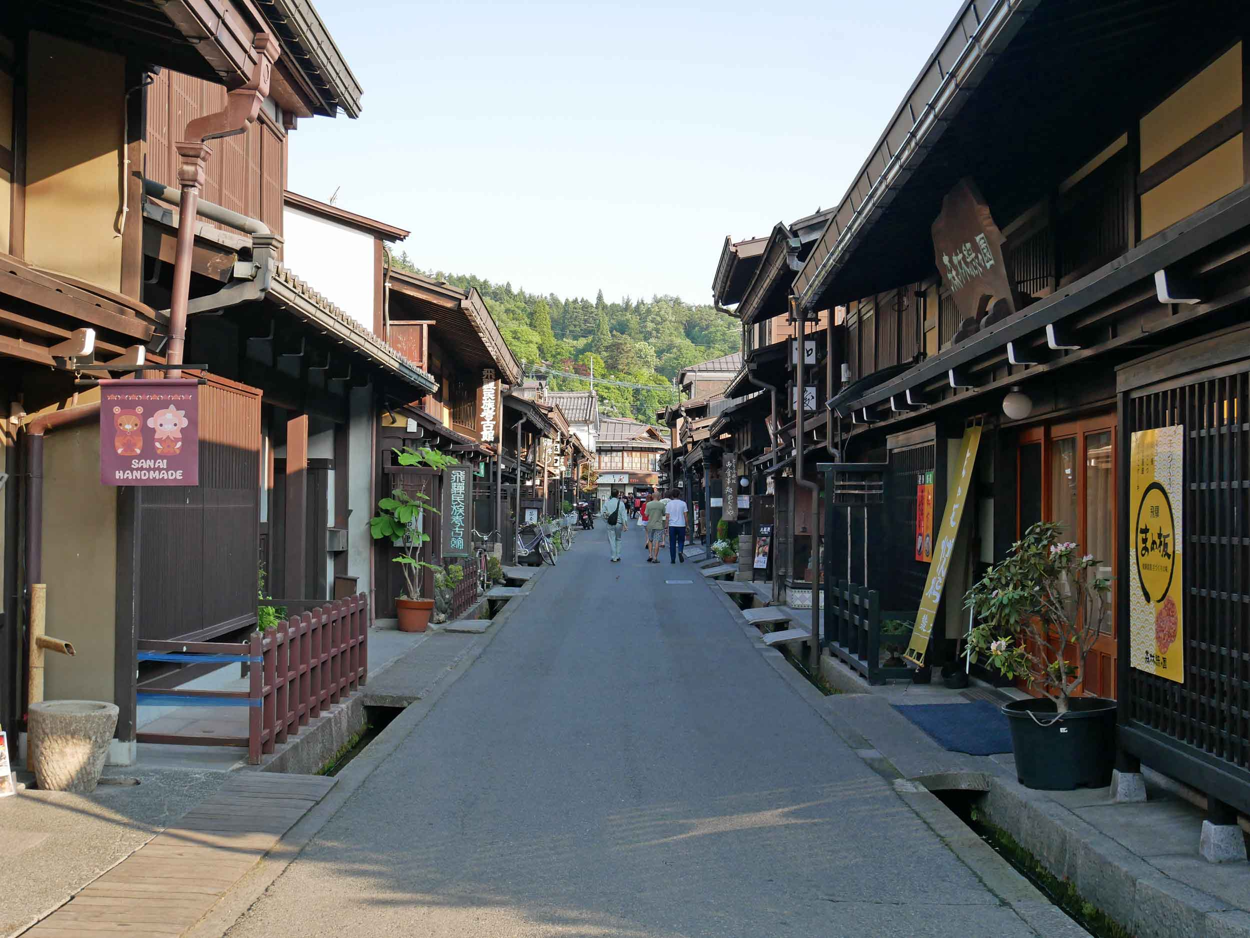 The old town of Takayama dates from the Edo period in the 1600s.