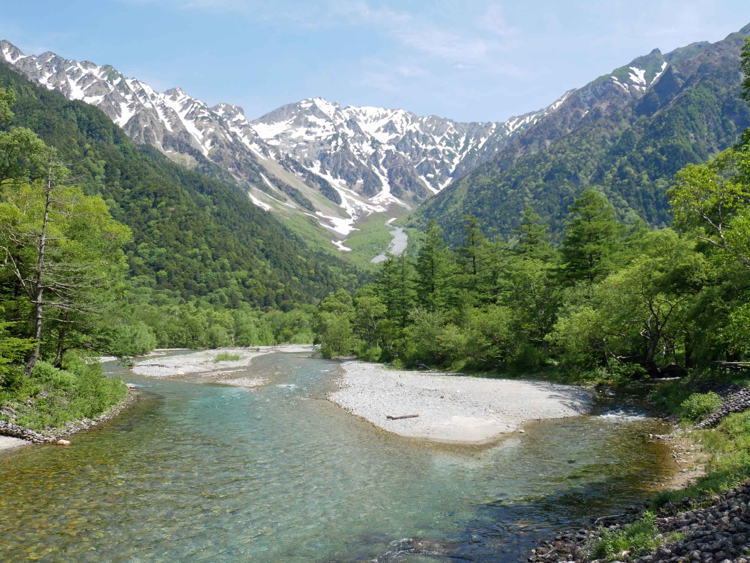 We left Takayama early the next morning for Kamikochi, which is enveloped by the majestic Hida mountain range of the Japanese Alps.