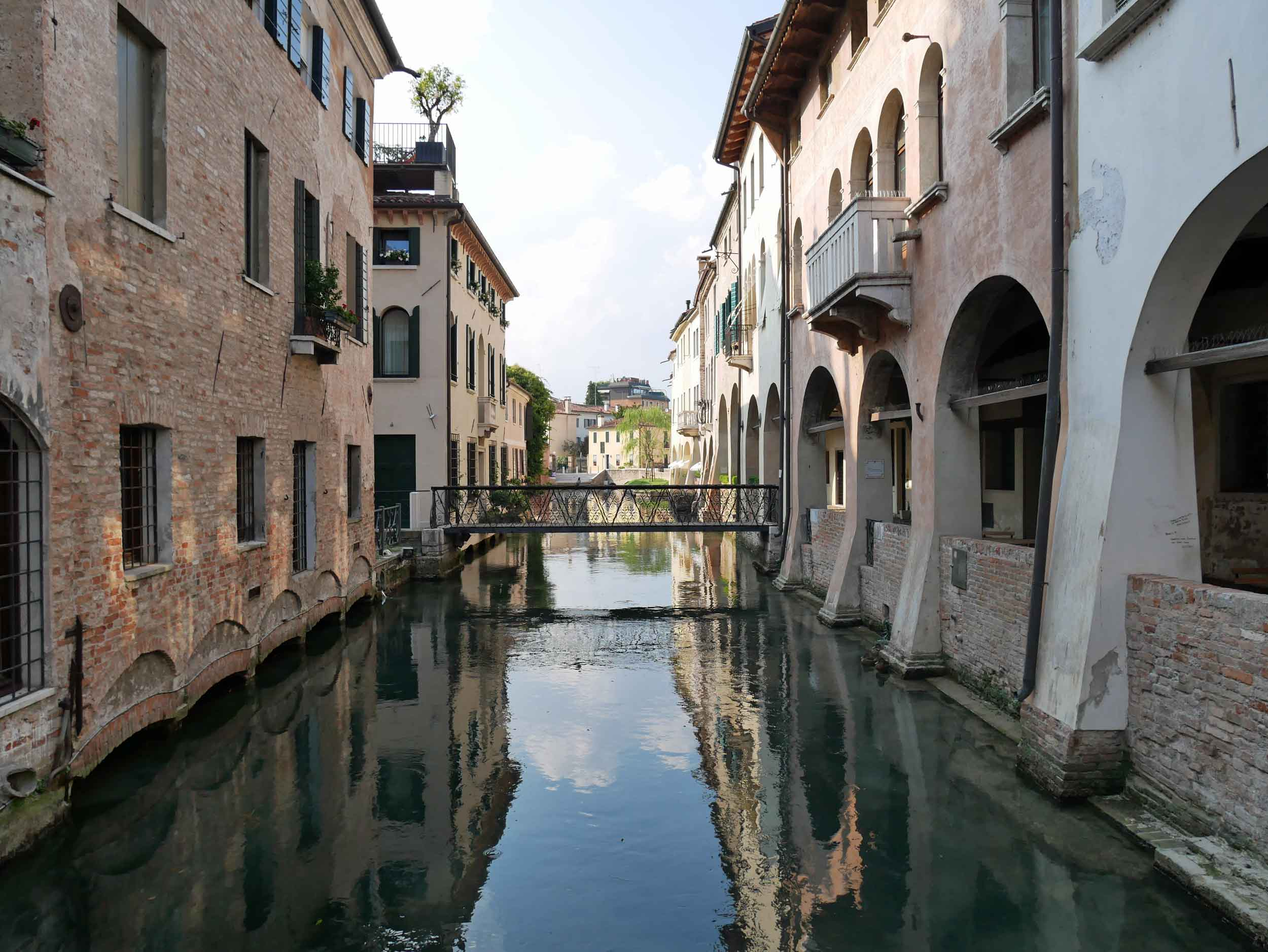 "We fell for the small old town of Treviso, which we deemed Venice ""light"" with its own canals and sweet style (July 23)."
