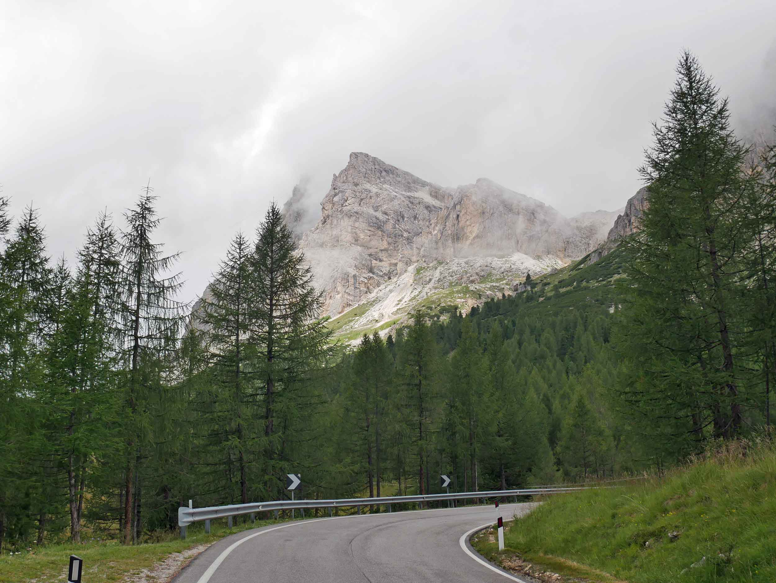 A classic Italian drive, the smooth roads and steep curves made for a fun road trip.