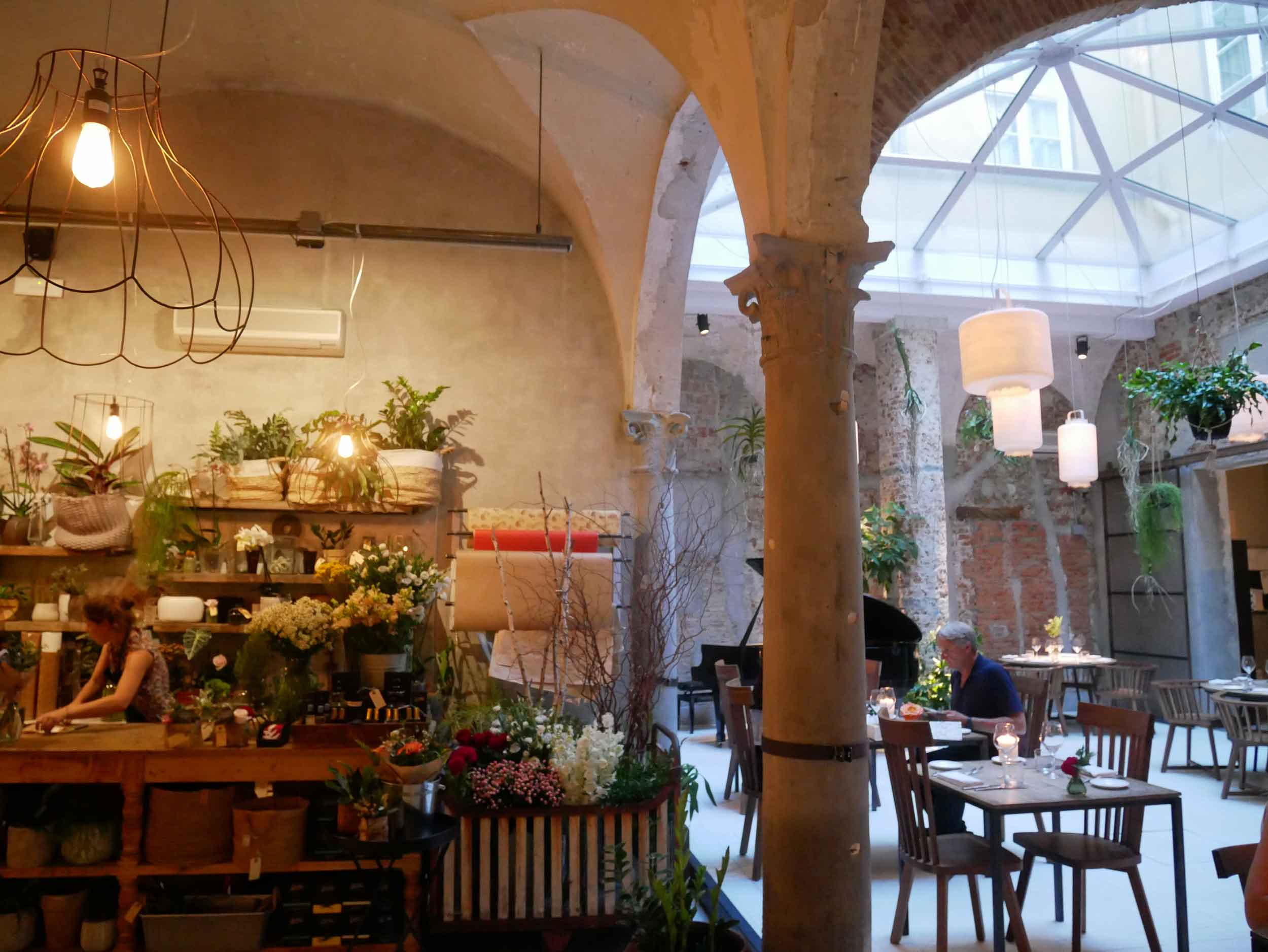 We fell for Florence's La Ménagère, a hip complex of shops, cafes and performance spaces.